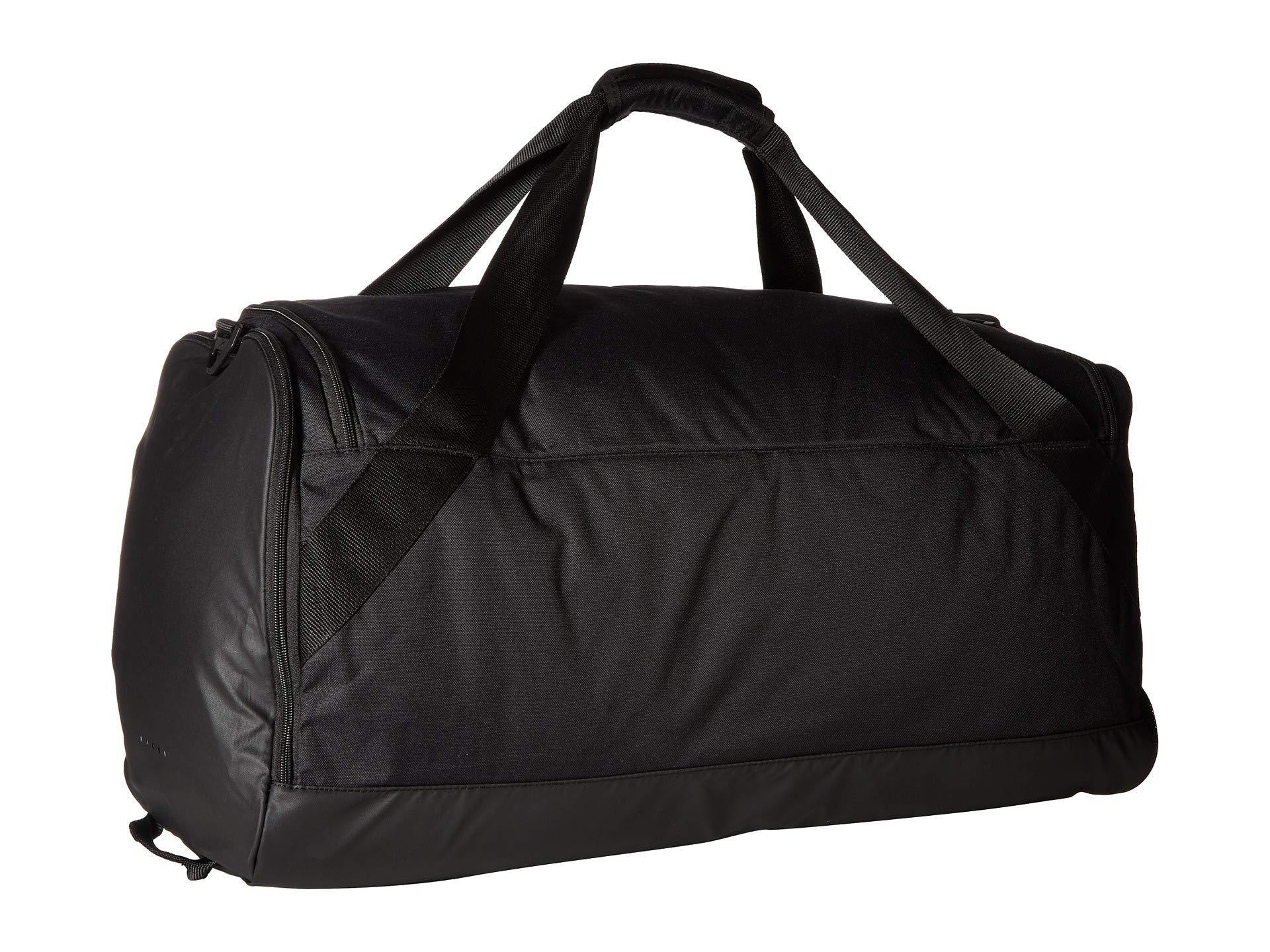 Nike - Brasilia Large Duffel Bag (black black white) Duffel Bags for. View  fullscreen 926270a0e376e