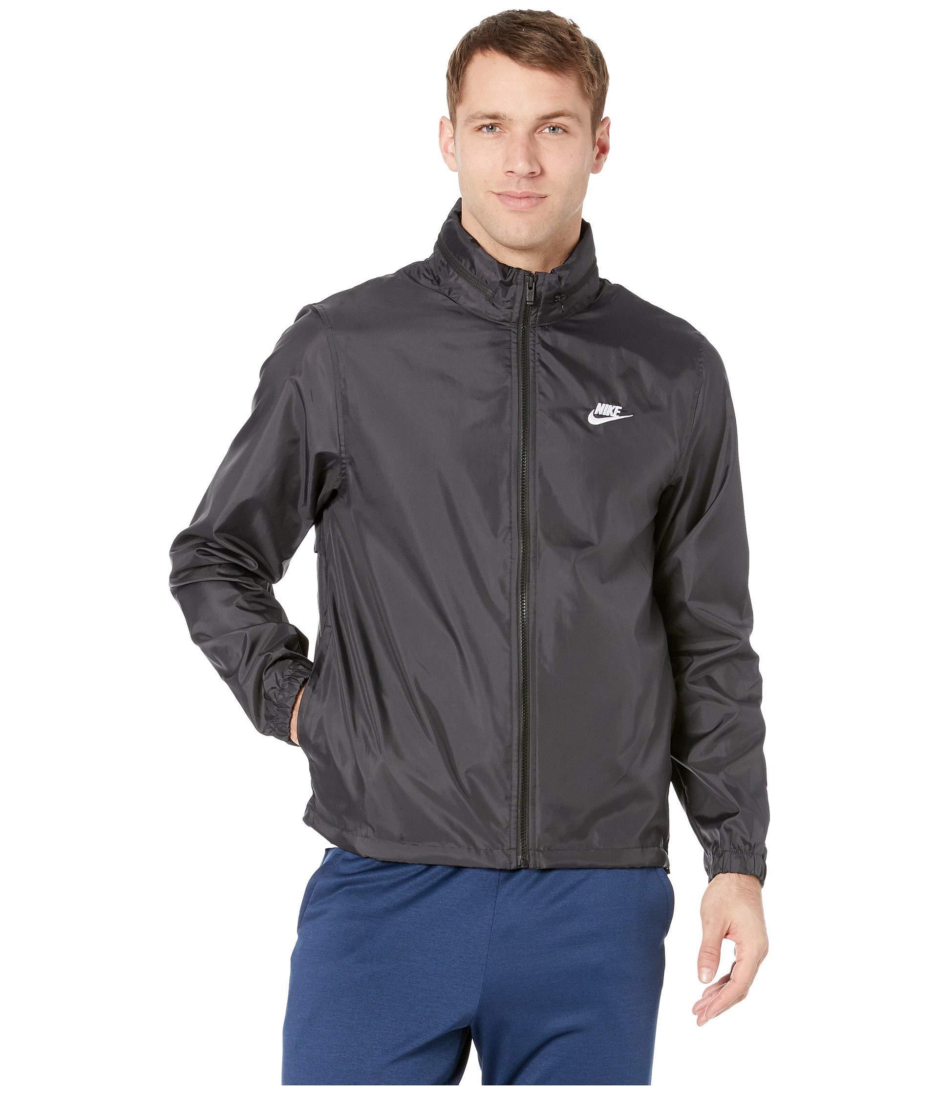 e5d8c5bd408b Lyst - Nike Nsw Hooded Woven Windbreaker Jacket (pink Gaze white ...