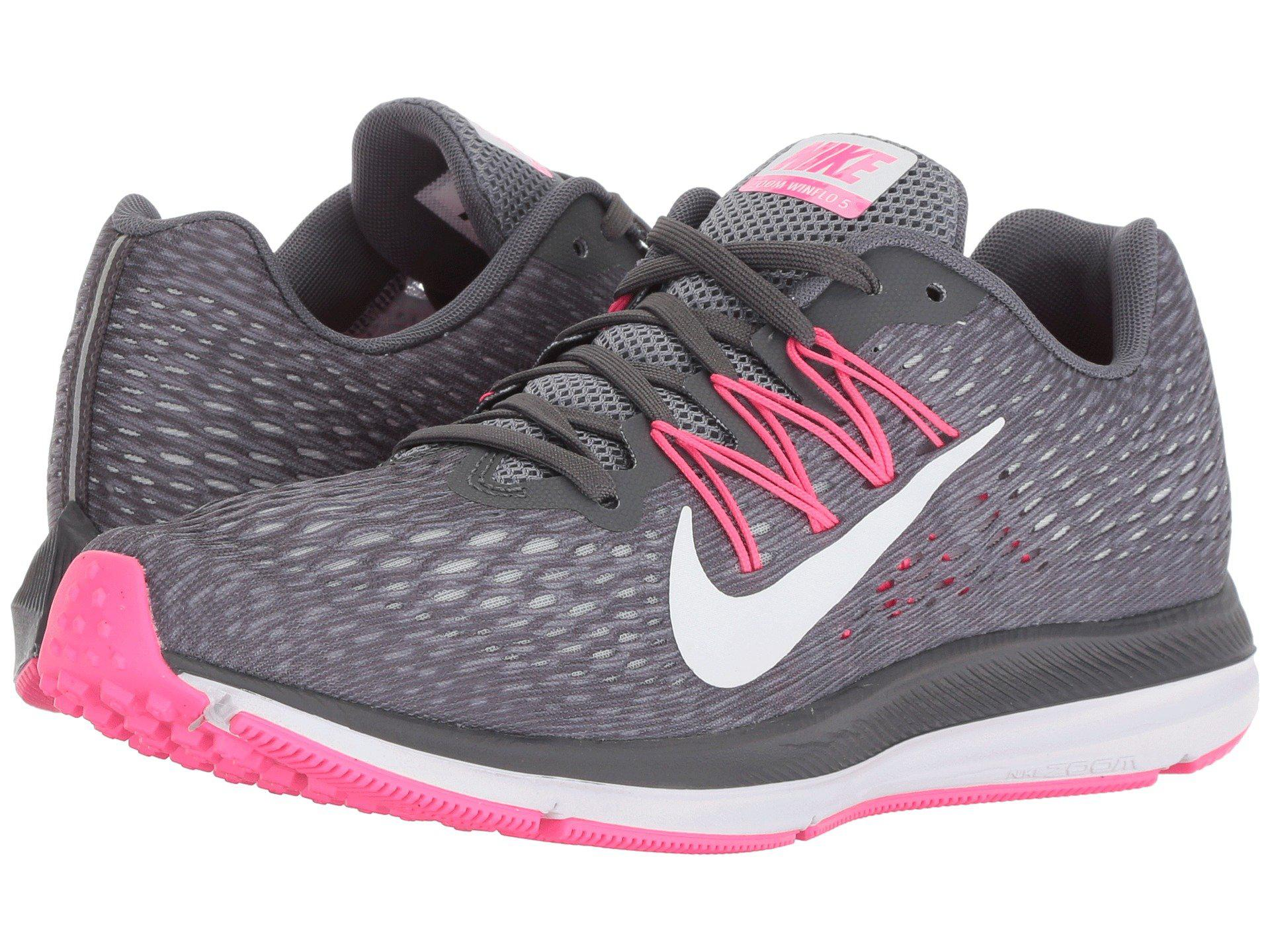 huge discount 7df6f 318b2 Lyst - Nike Air Zoom Winflo 5 (blackanthracite) Womens Runni