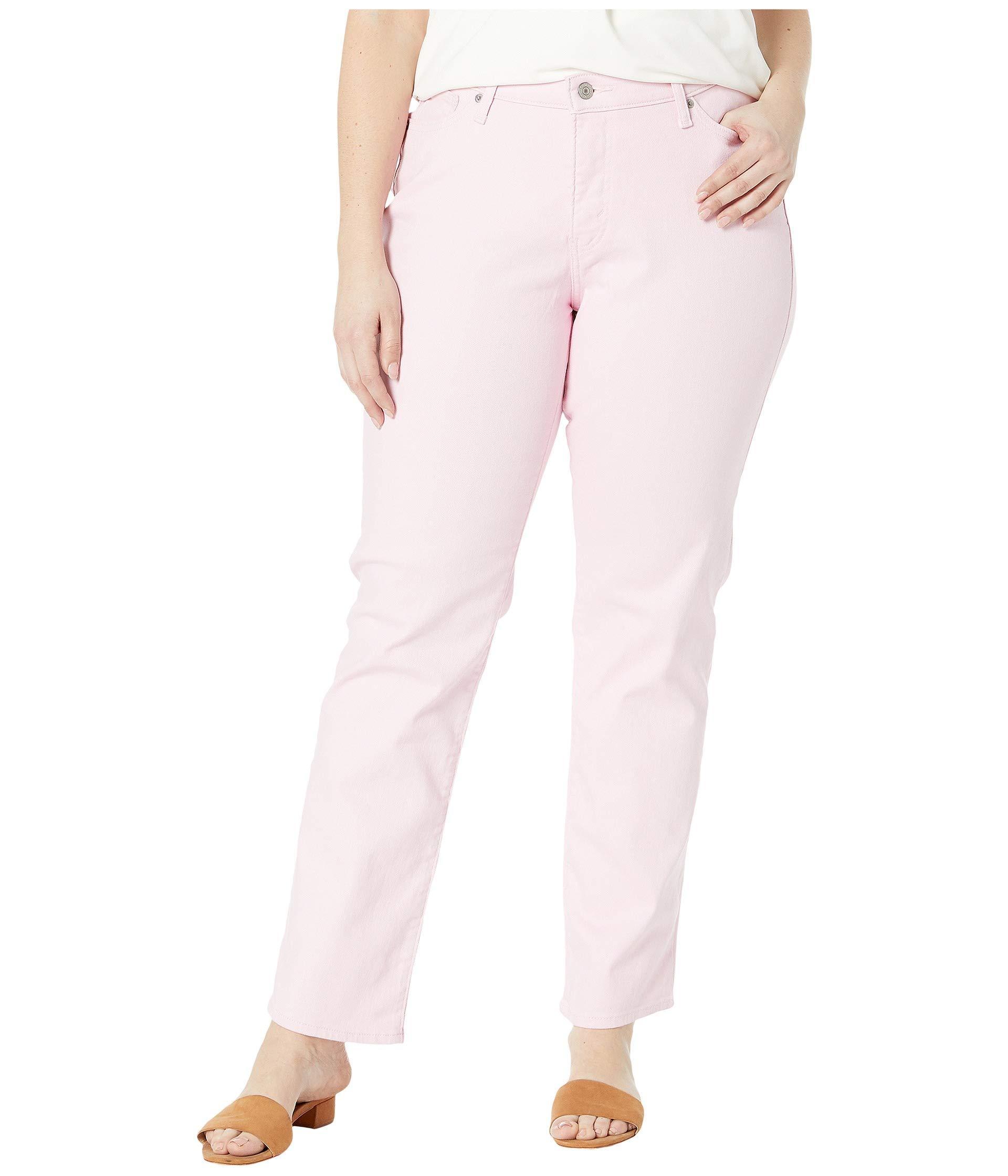 a930eb7cba9 Levi s. Pink Levi s(r) Plus 414 Classic Straight (soft Black) Women s Jeans