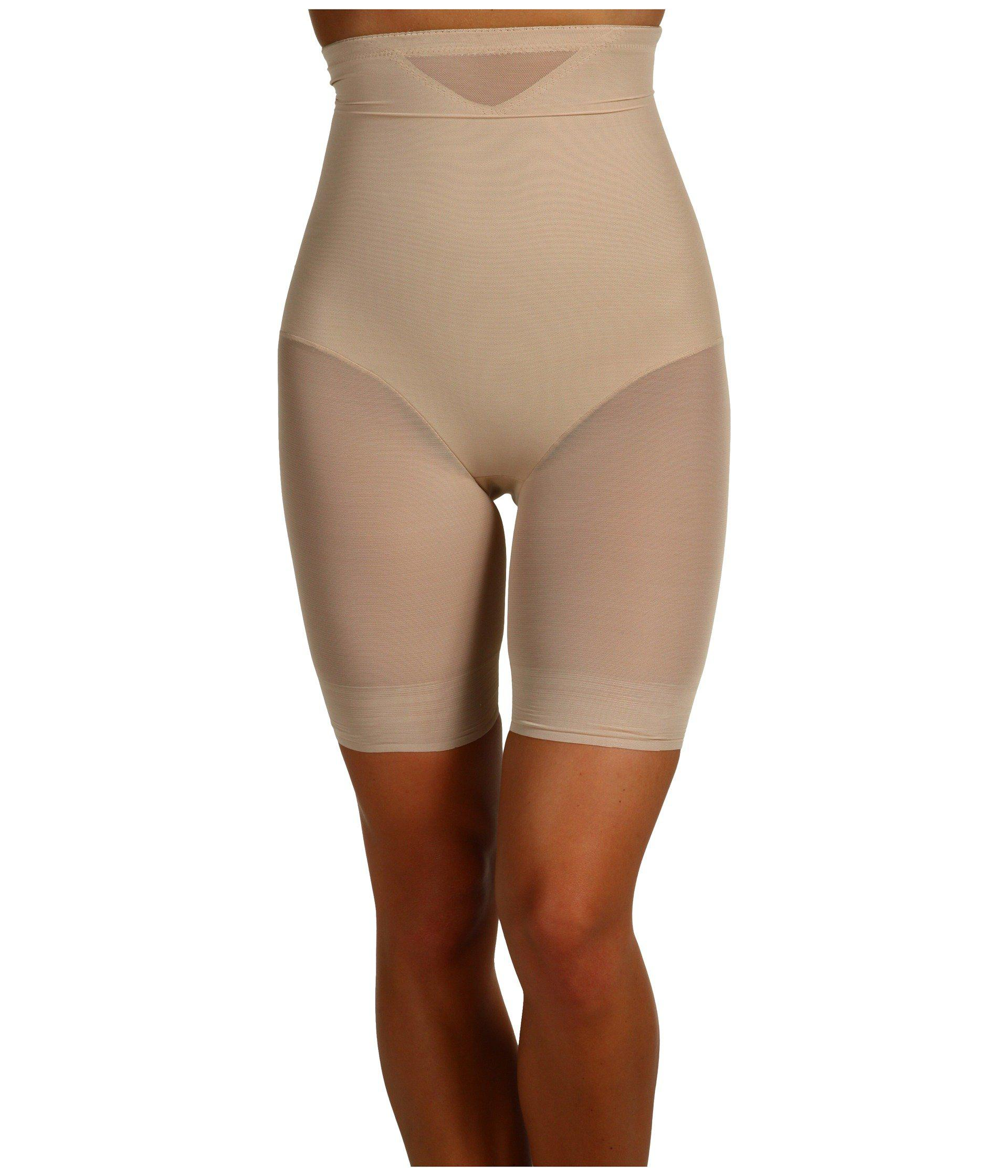 367dbaf5271bd Miraclesuit. Natural Extra Firm Sexy Sheer Shaping Hi-waist Thigh Slimmer  ...