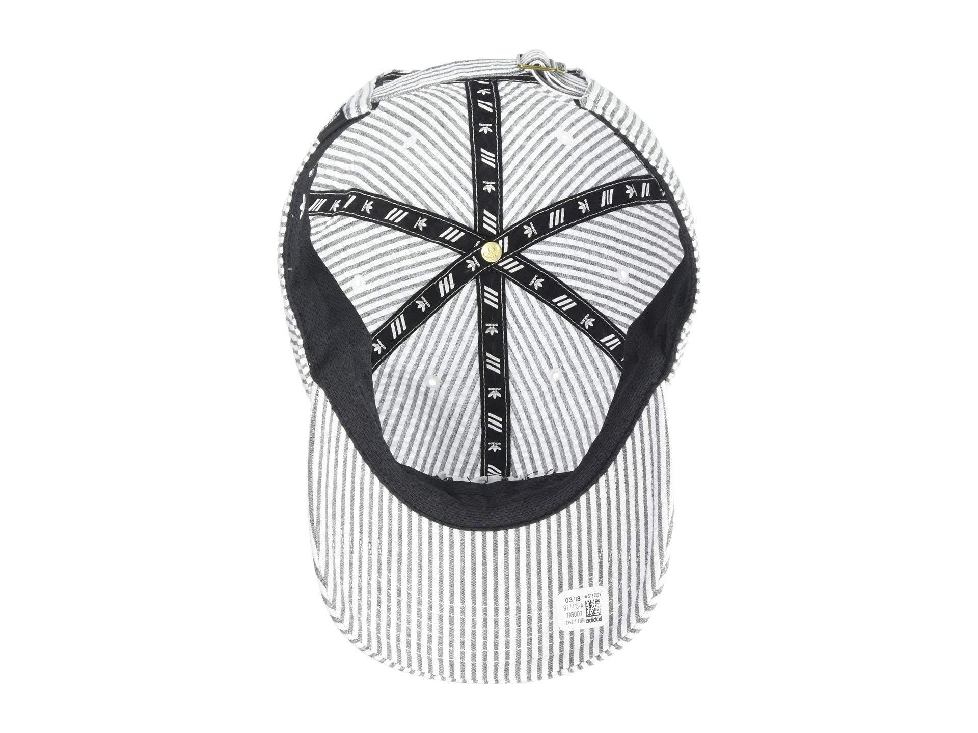 d25658446ac Adidas Originals - Originals Relaxed Seersucker Strapback (white black) Caps  for Men -. View fullscreen