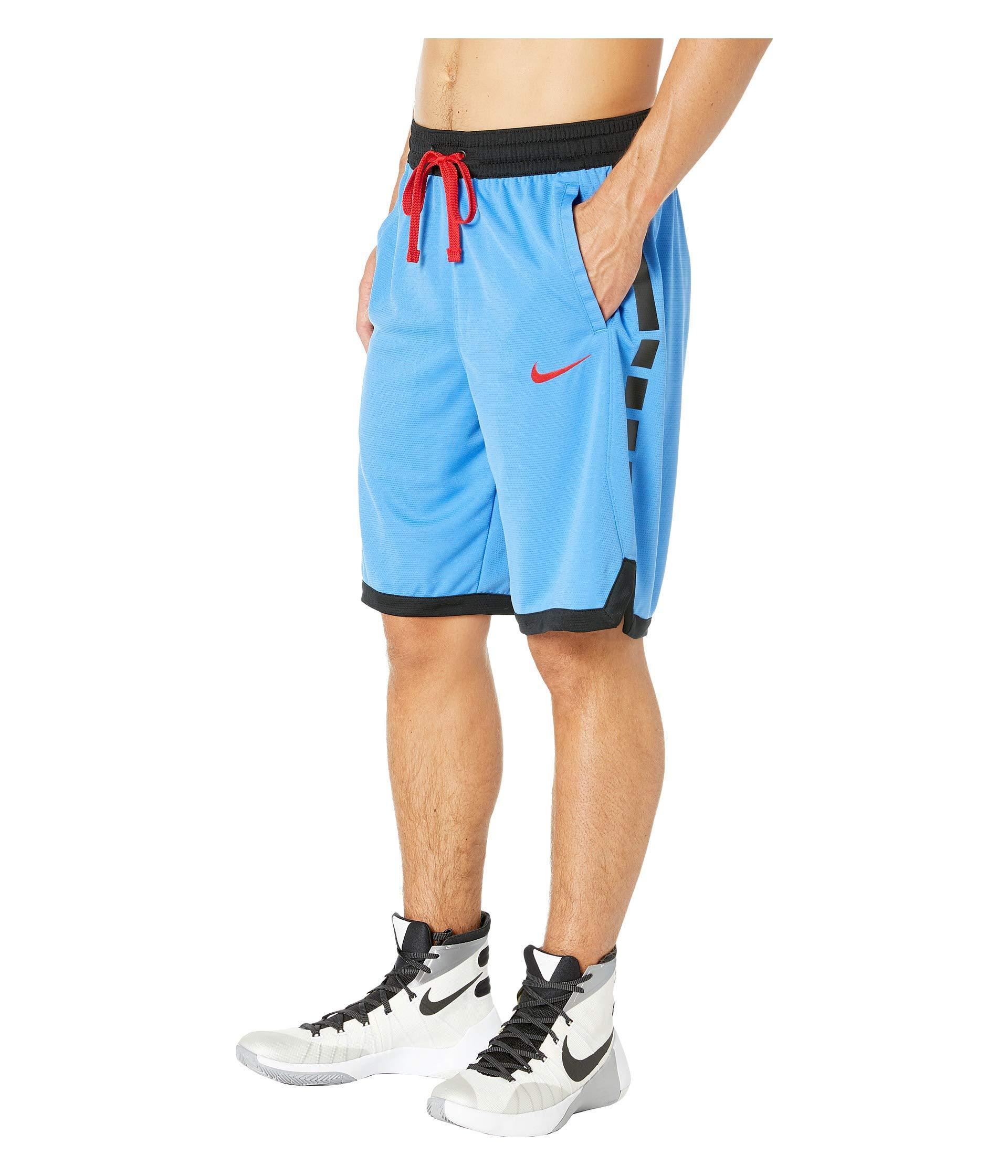 bc3393ae5ceb Lyst - Nike Dry Elite Shorts Stripe (white black black black) Men s Shorts  in Blue for Men