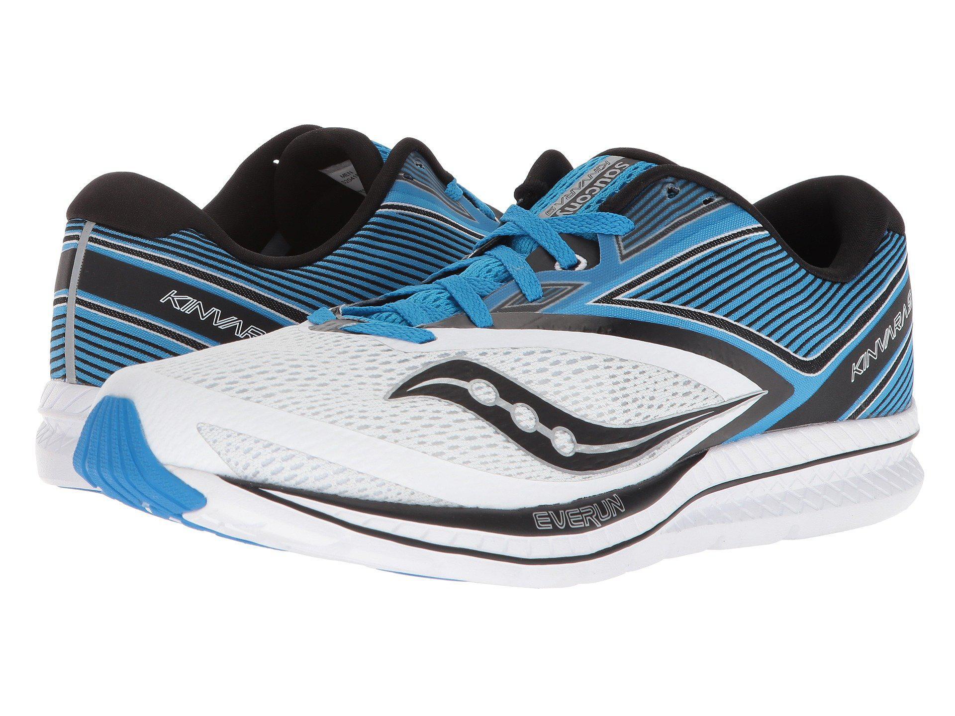 9bcec923 Saucony Blue Kinvara 9 (orange/red/black) Men's Running Shoes for men