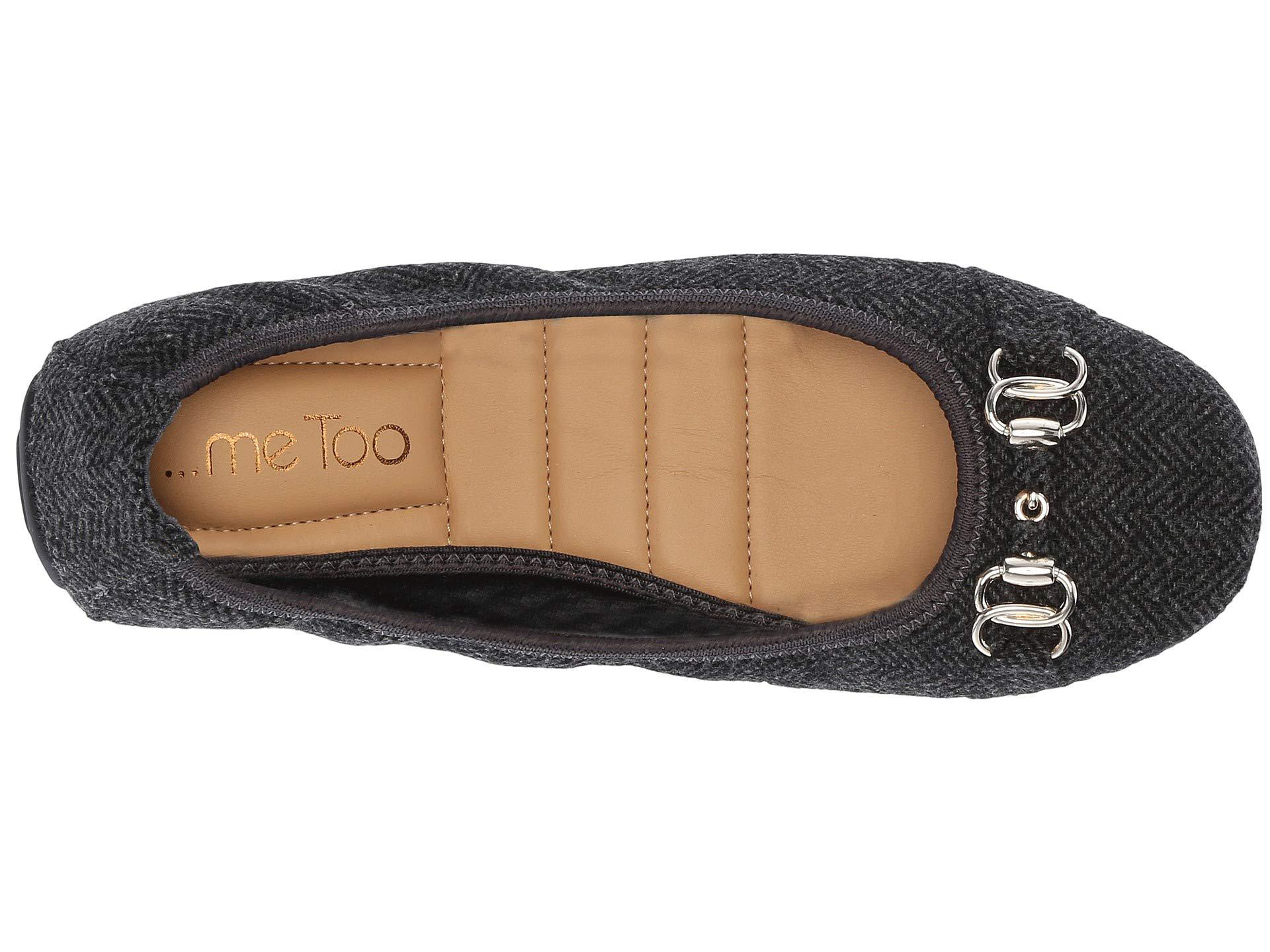 80ef1eb328f7 Me Too - Olympia (tan/black Mini Jag Haircalf) Women's Shoes - Lyst. View  fullscreen