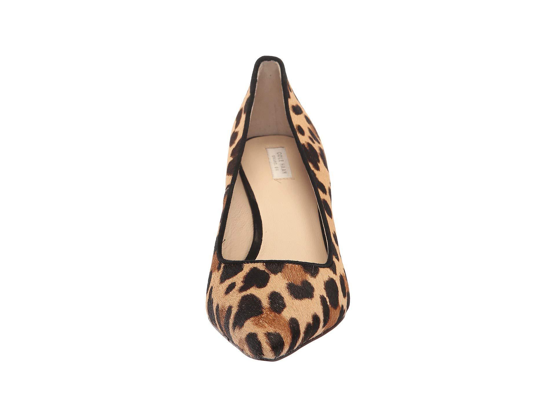 ae886a629d2 Lyst - Cole Haan Vesta Pump 65mm (black Leather) Women s Shoes