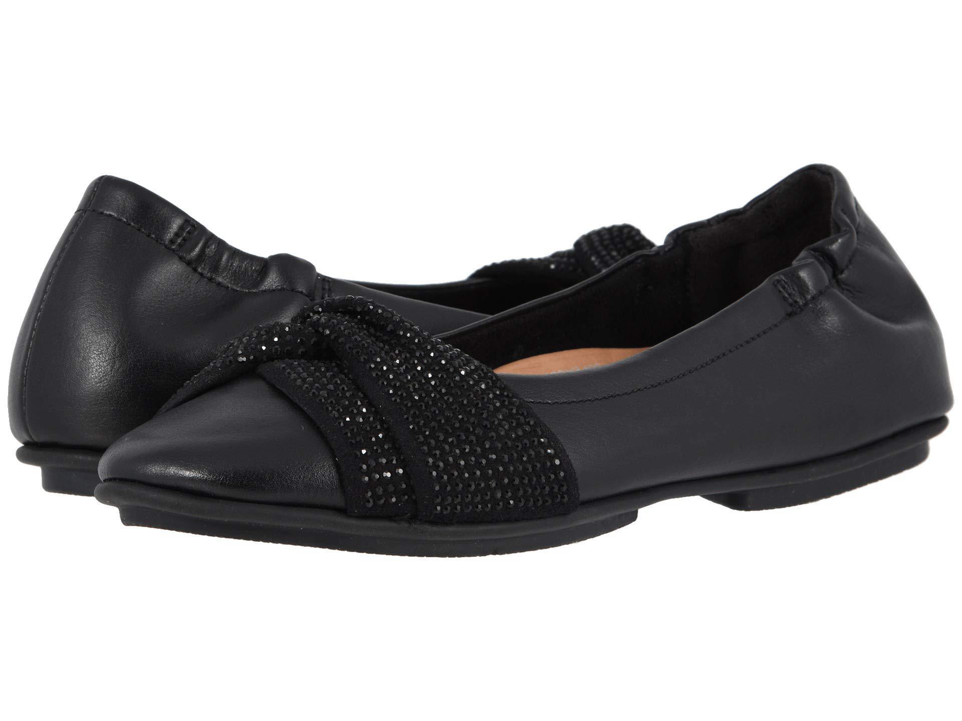 979b87c44 Lyst - Fitflop Twiss Crystal (black) Women s Flat Shoes in Black