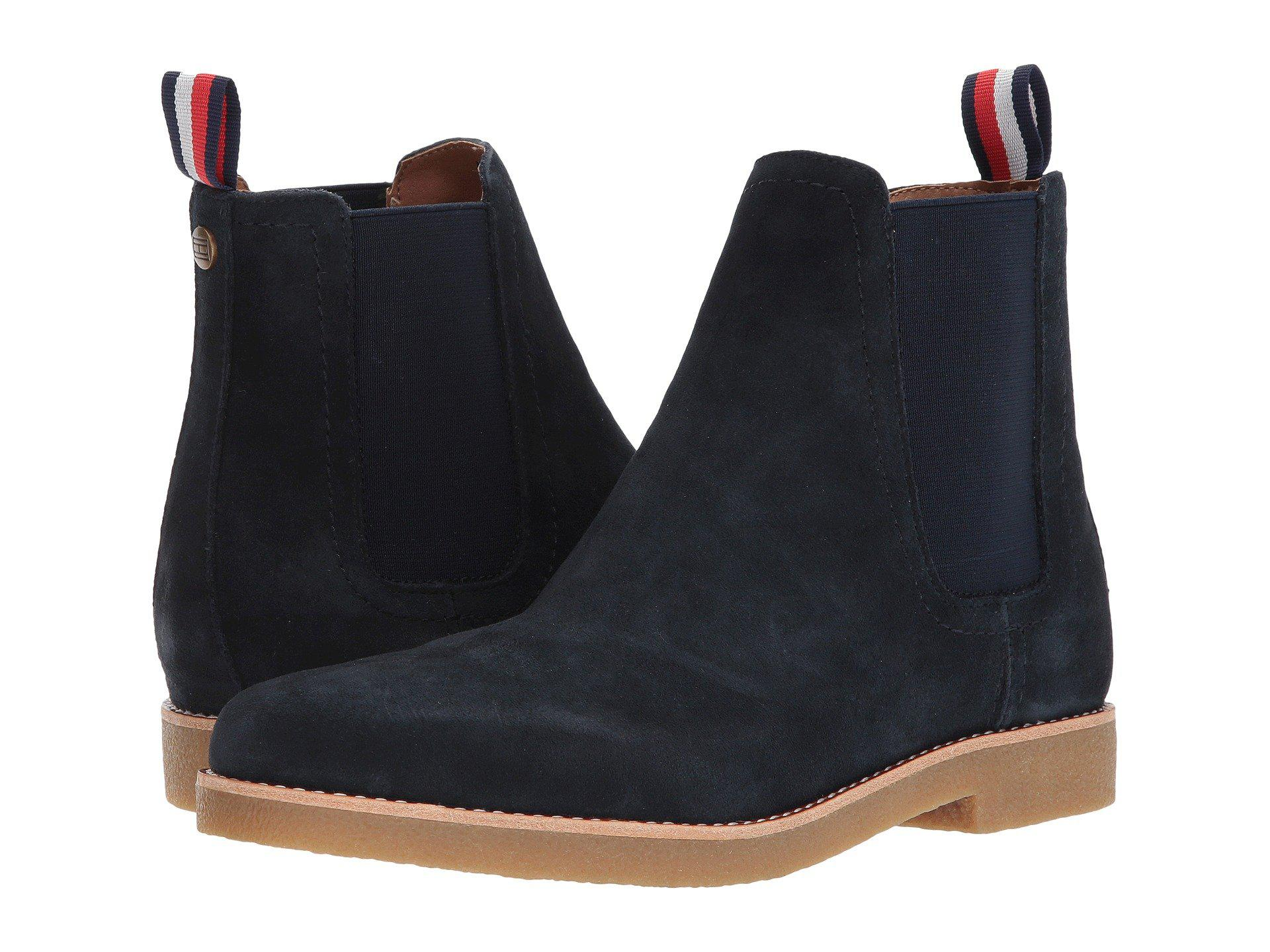 Lyst - Tommy Hilfiger Crane (navy) Men s Pull-on Boots in Blue for Men 88c73ffded