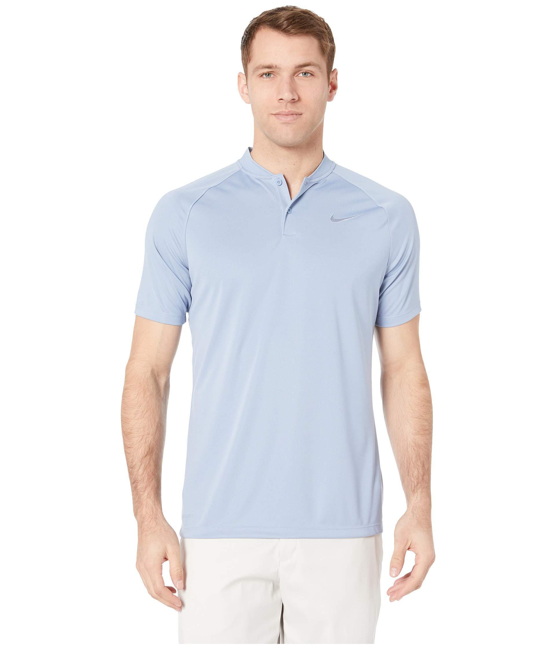204c666e Lyst - Nike Victory Blade Polo (gridiron/gridiron) Men's Clothing in ...