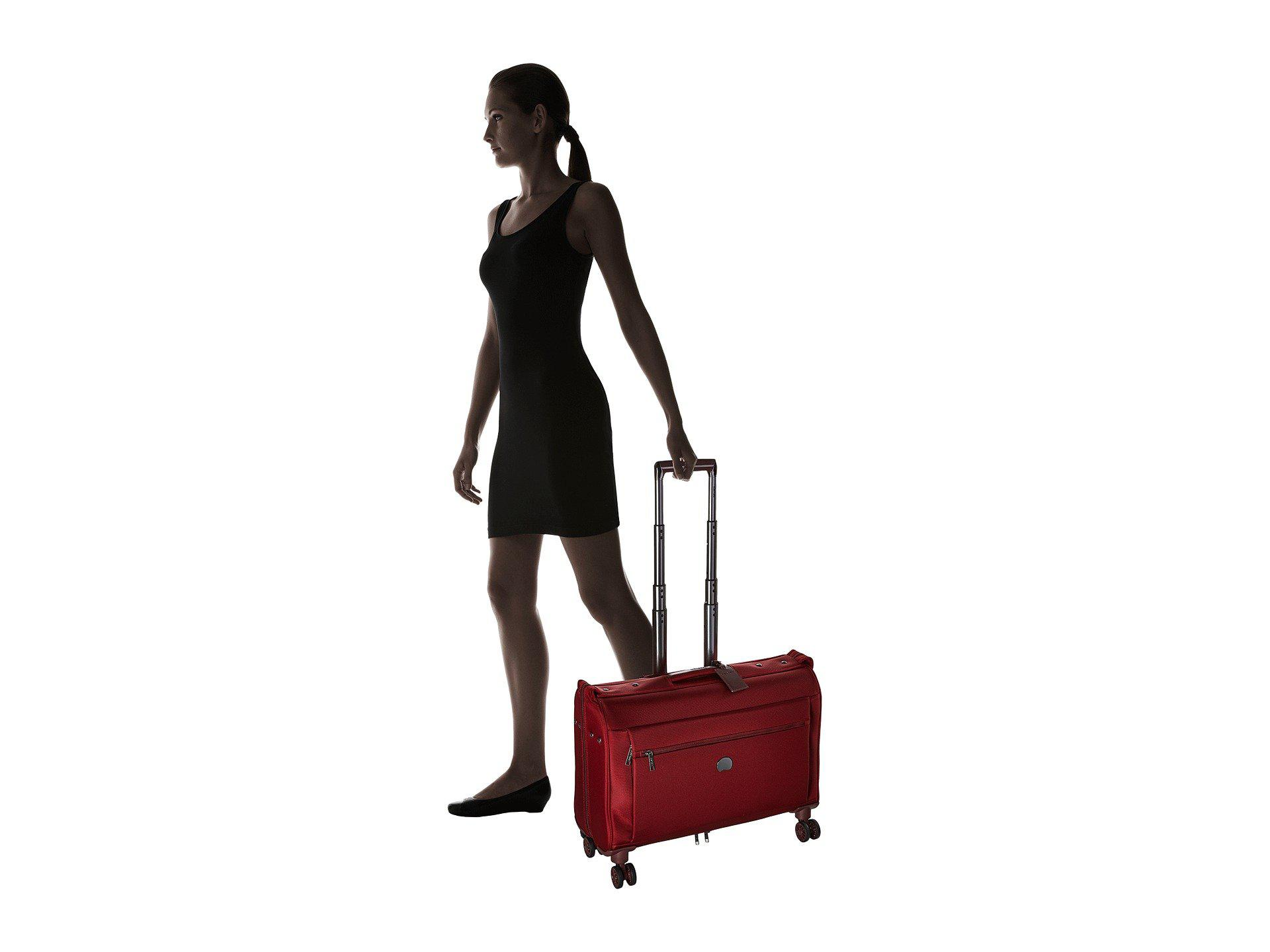 e92373268d Delsey - Red Montmartre Carry-on Spinner Trolley Garment Bag (bordeaux)  Luggage -. View fullscreen