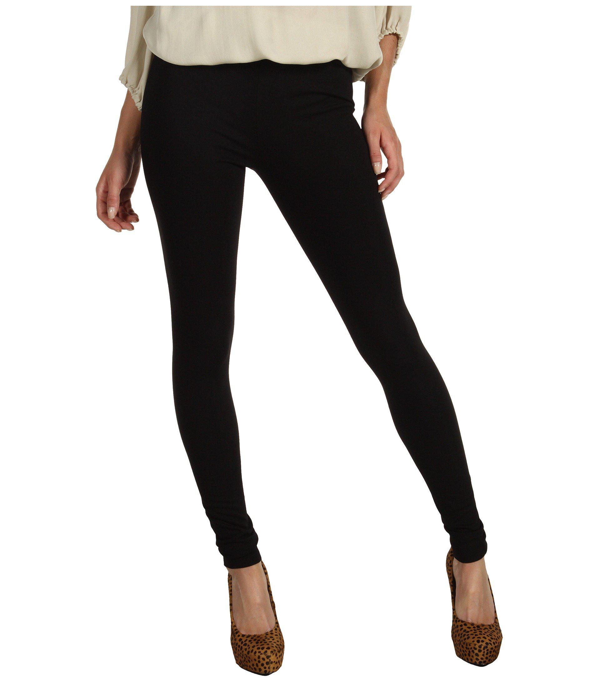 aeb84fe5b6577 Lyst - Vince Camuto Ponte Legging (rich Black) Women's Casual Pants ...