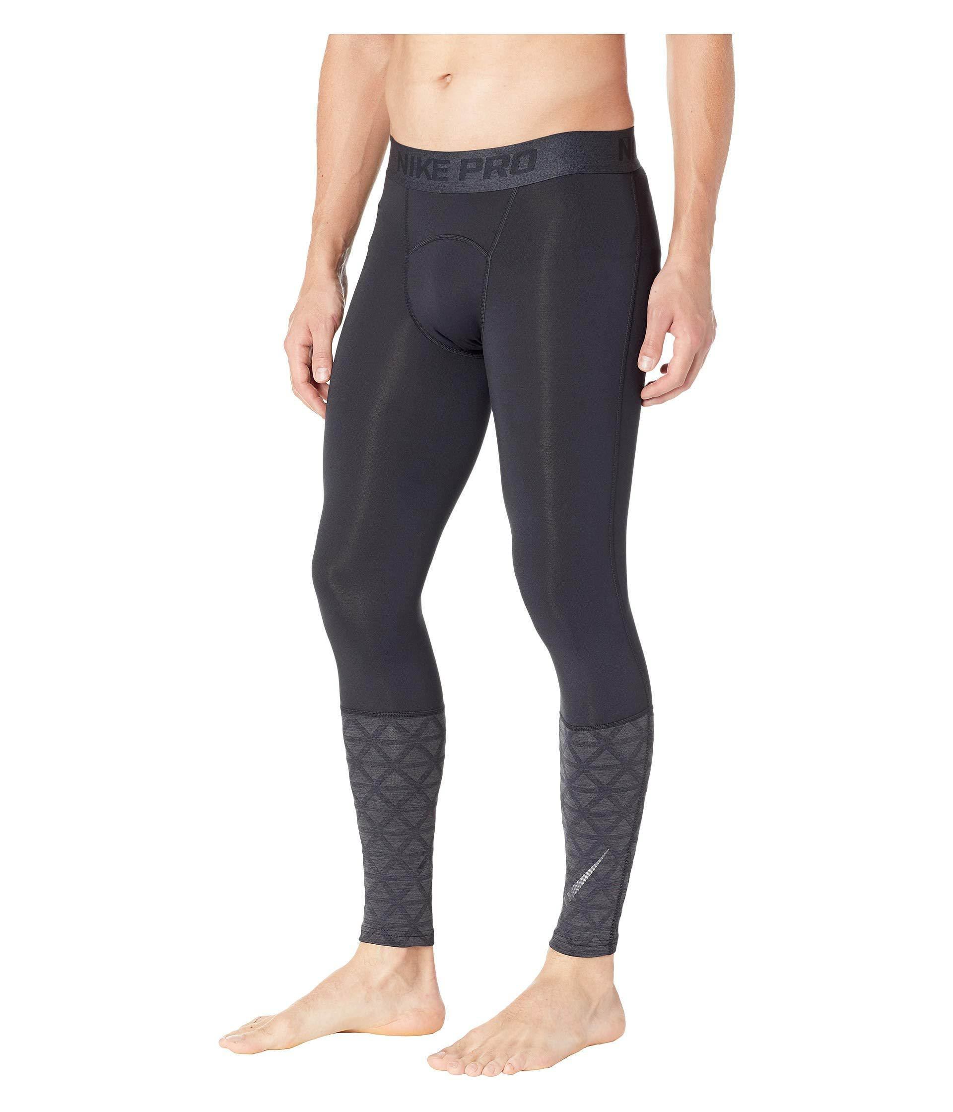 0840540806fe1 Lyst - Nike Pro Tights Utility Therma in Black for Men