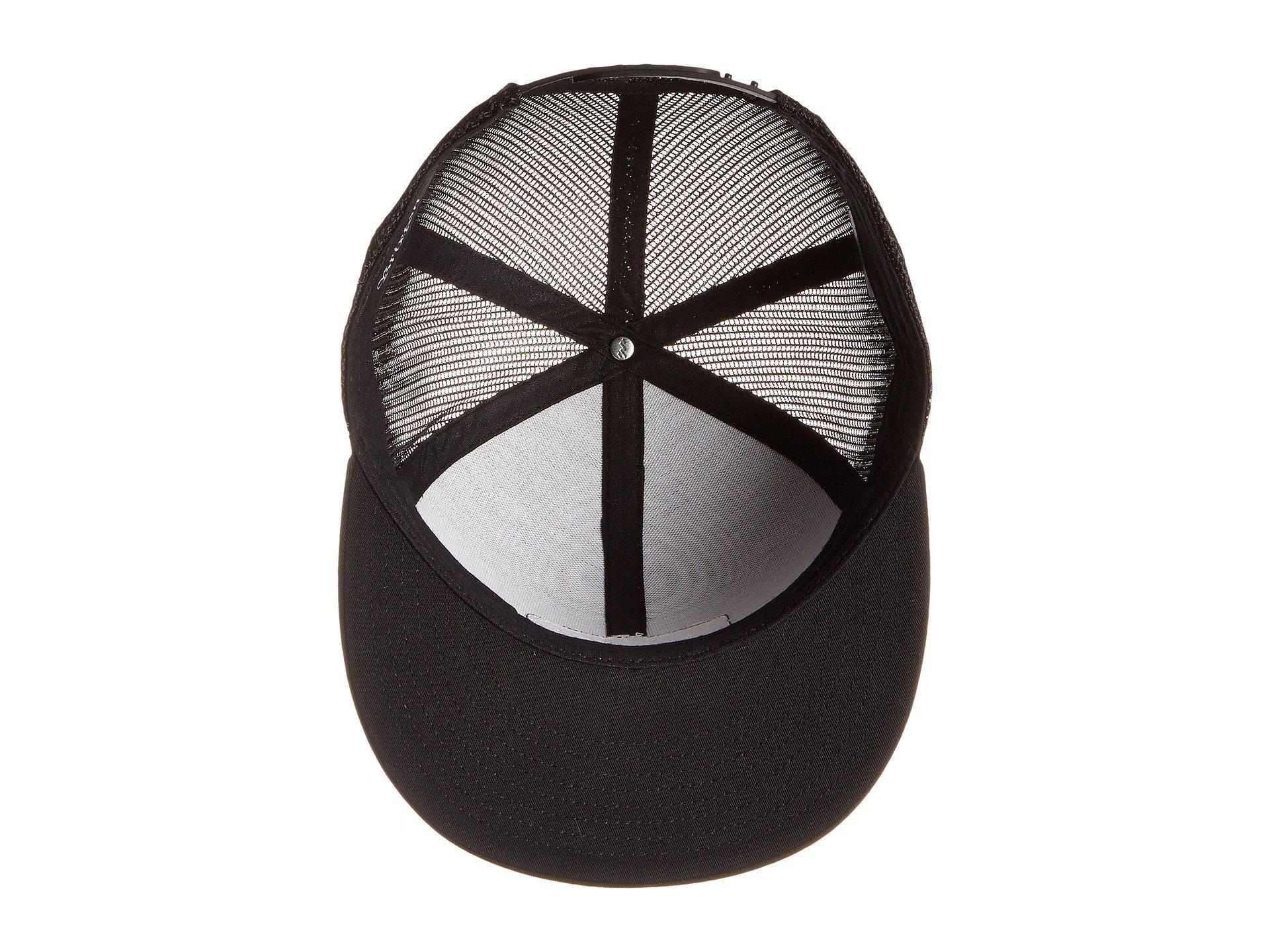 4c5db913b0f Lyst - Brixton Palmer Mesh Cap in Black for Men