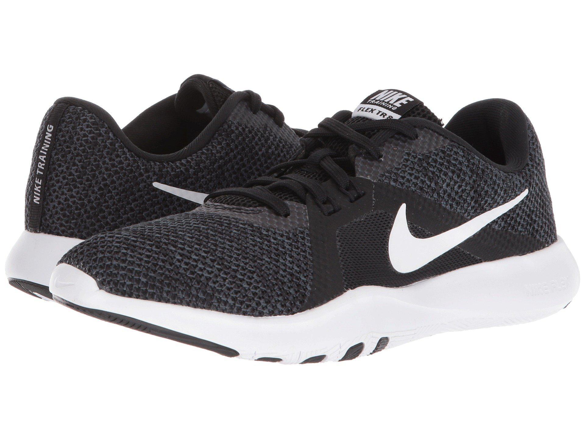 095b3b43a4c Nike. Flex Tr 8 (black white anthracite) Women s Cross Training Shoes
