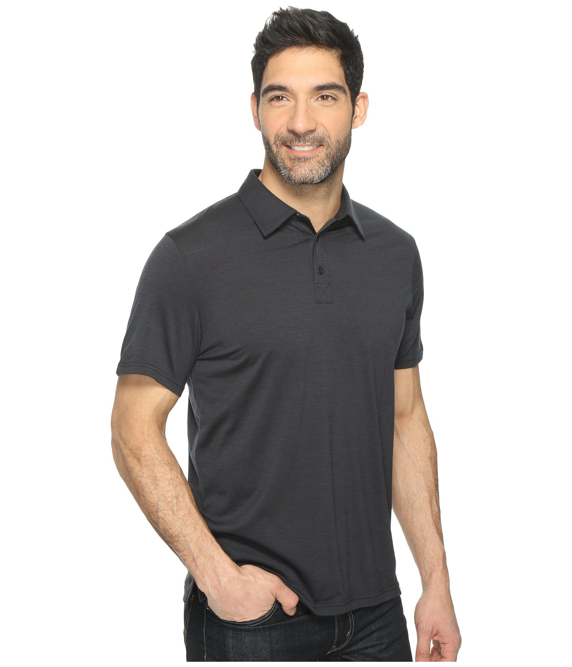 6143848b Smartwool - Gray Merino 150 Pattern Polo (charcoal) Men's Clothing for Men  - Lyst. View fullscreen