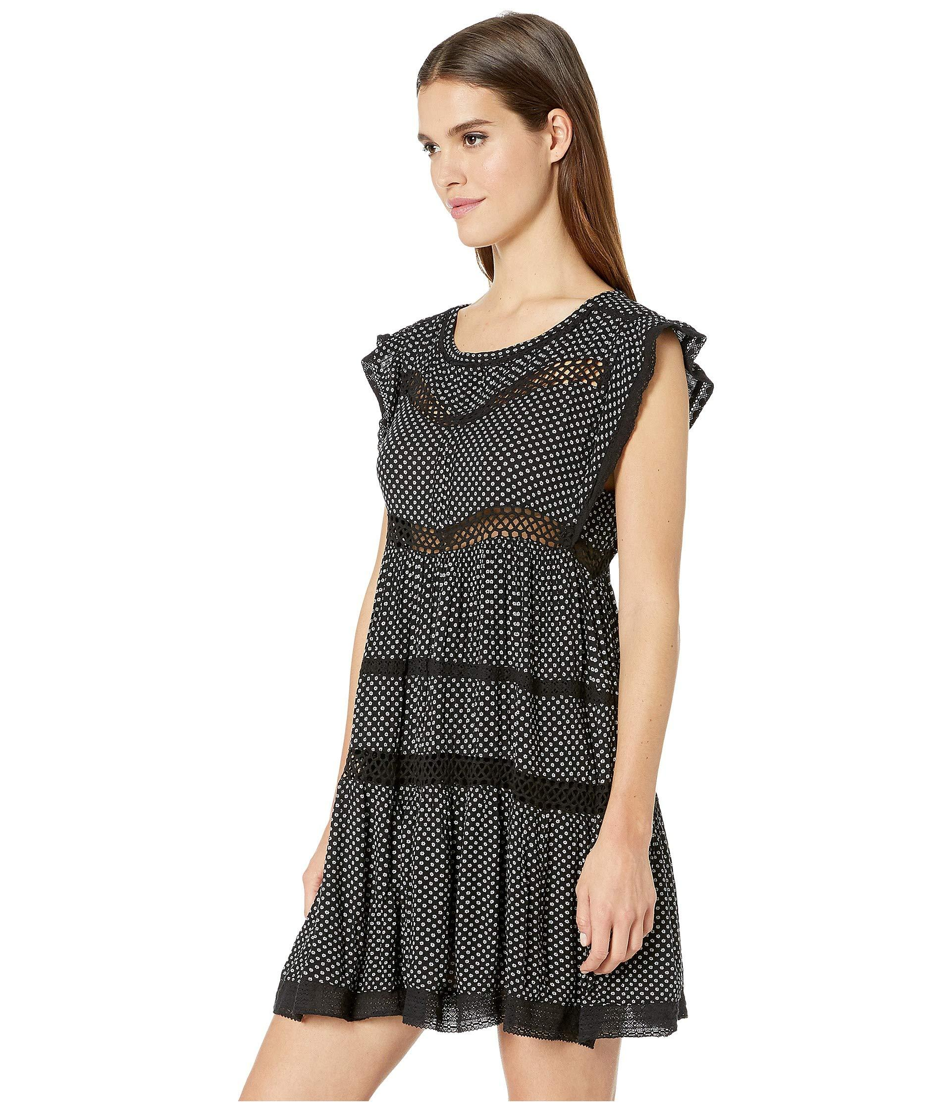29e159567a8 Lyst - Free People Retro Kitty Dress (black) Women s Clothing in Black