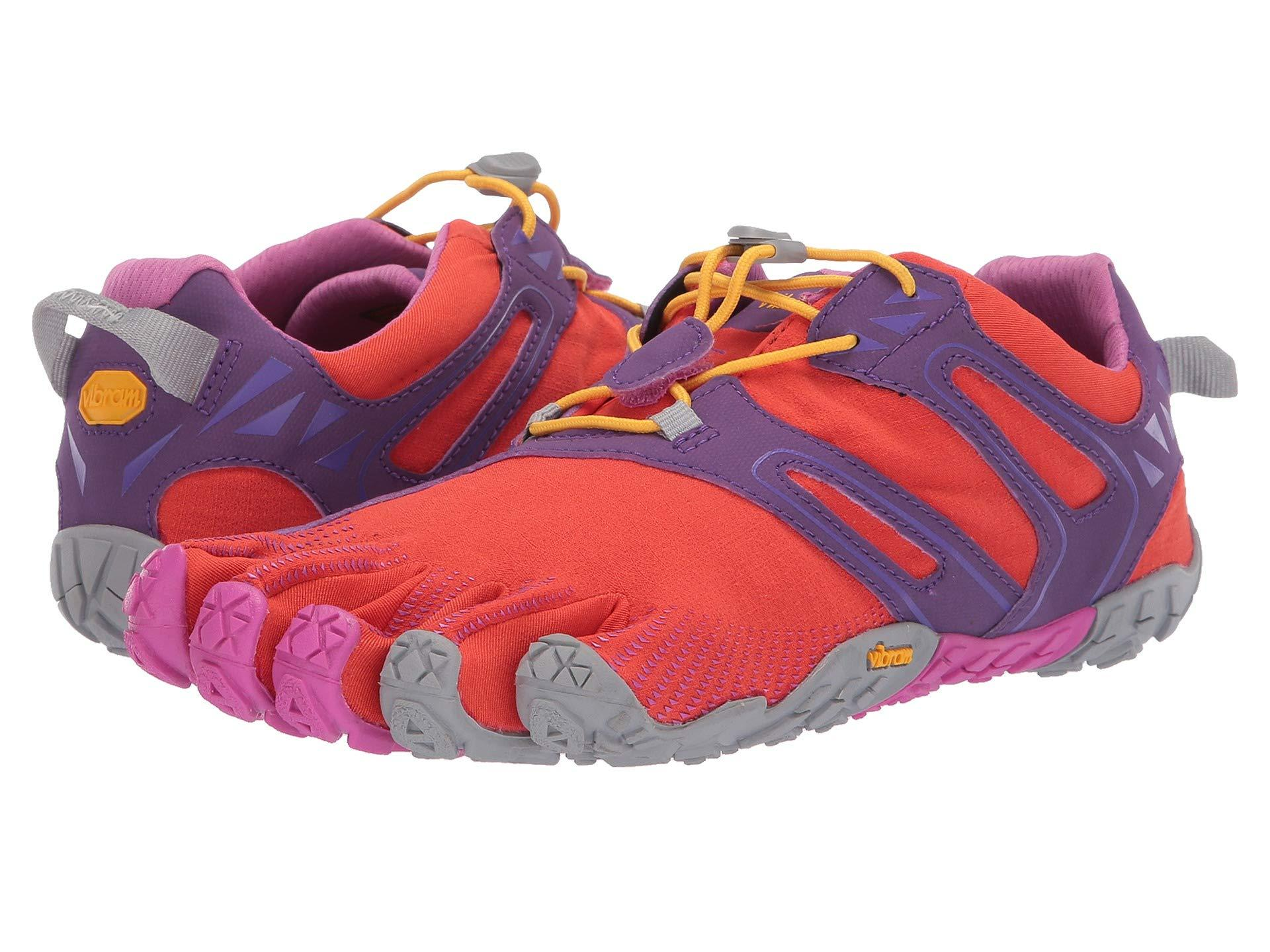 aab4585c6578 Lyst - Vibram Fivefingers V-trail (magenta orange) Women s Shoes in ...