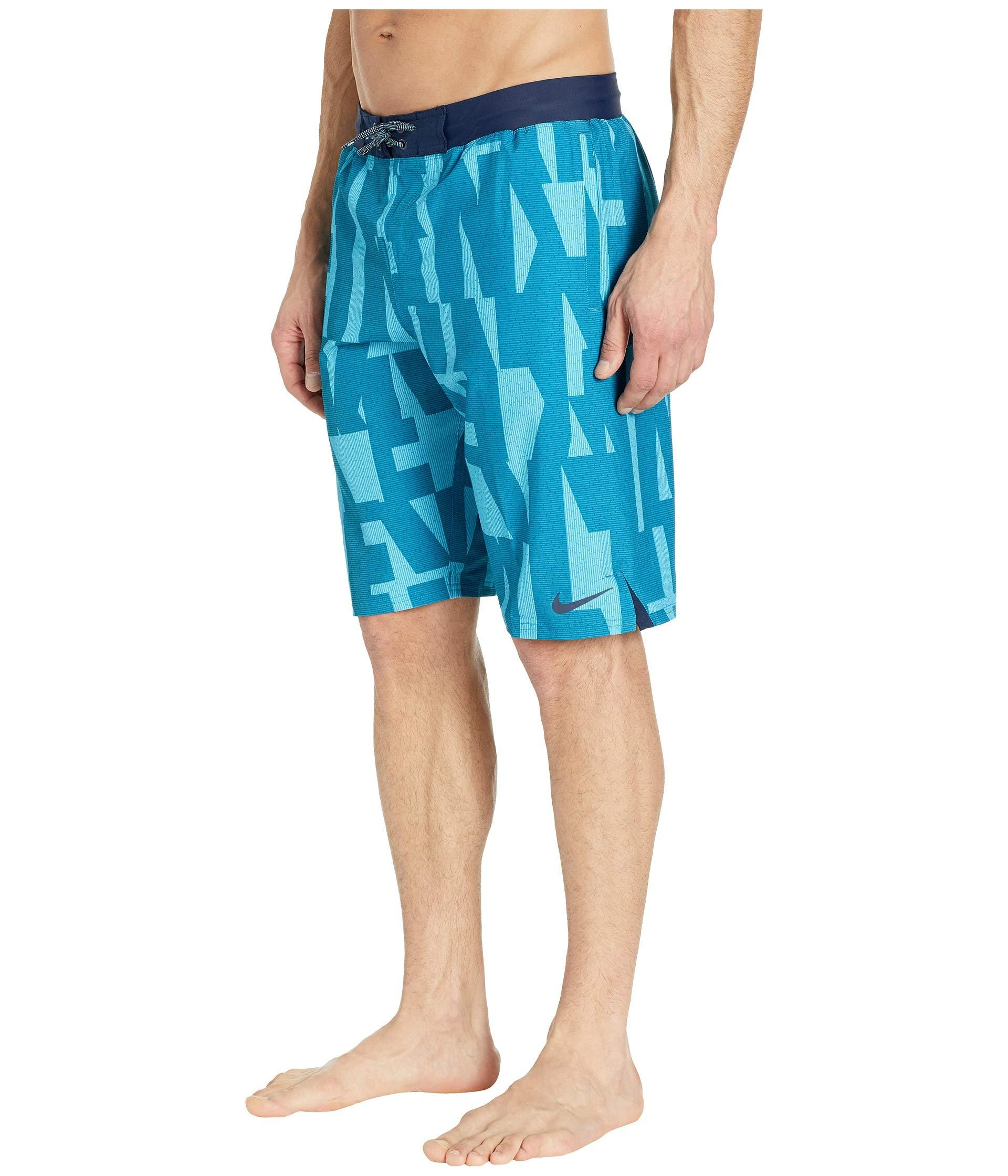 0c6a23d688 Lyst - Nike 11 Vector Vital Volley Shorts (green Abyss) Men's Swimwear in  Blue for Men