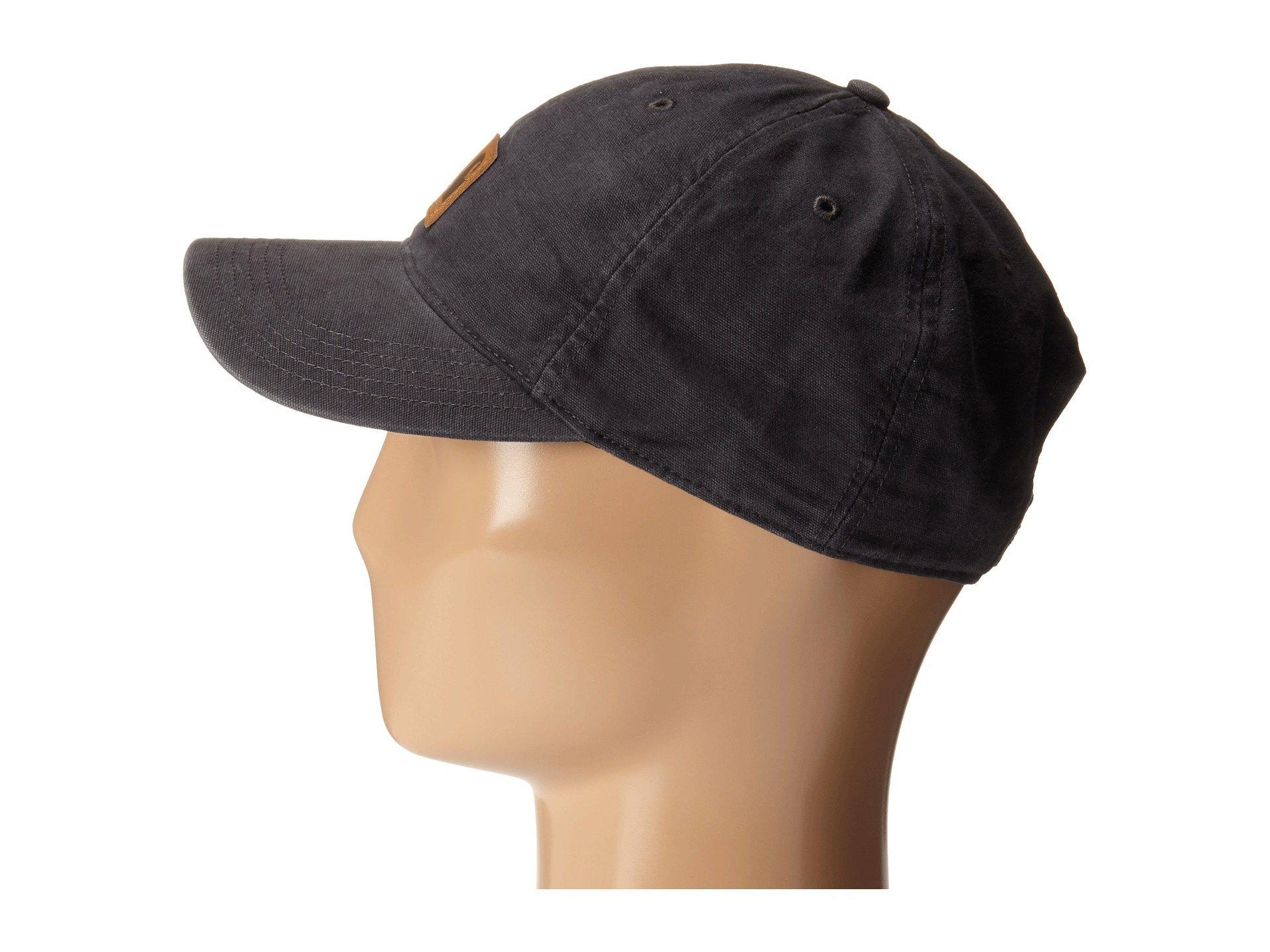 c927febc7a Carhartt Odessa Cap (black) Baseball Caps in Black for Men - Lyst