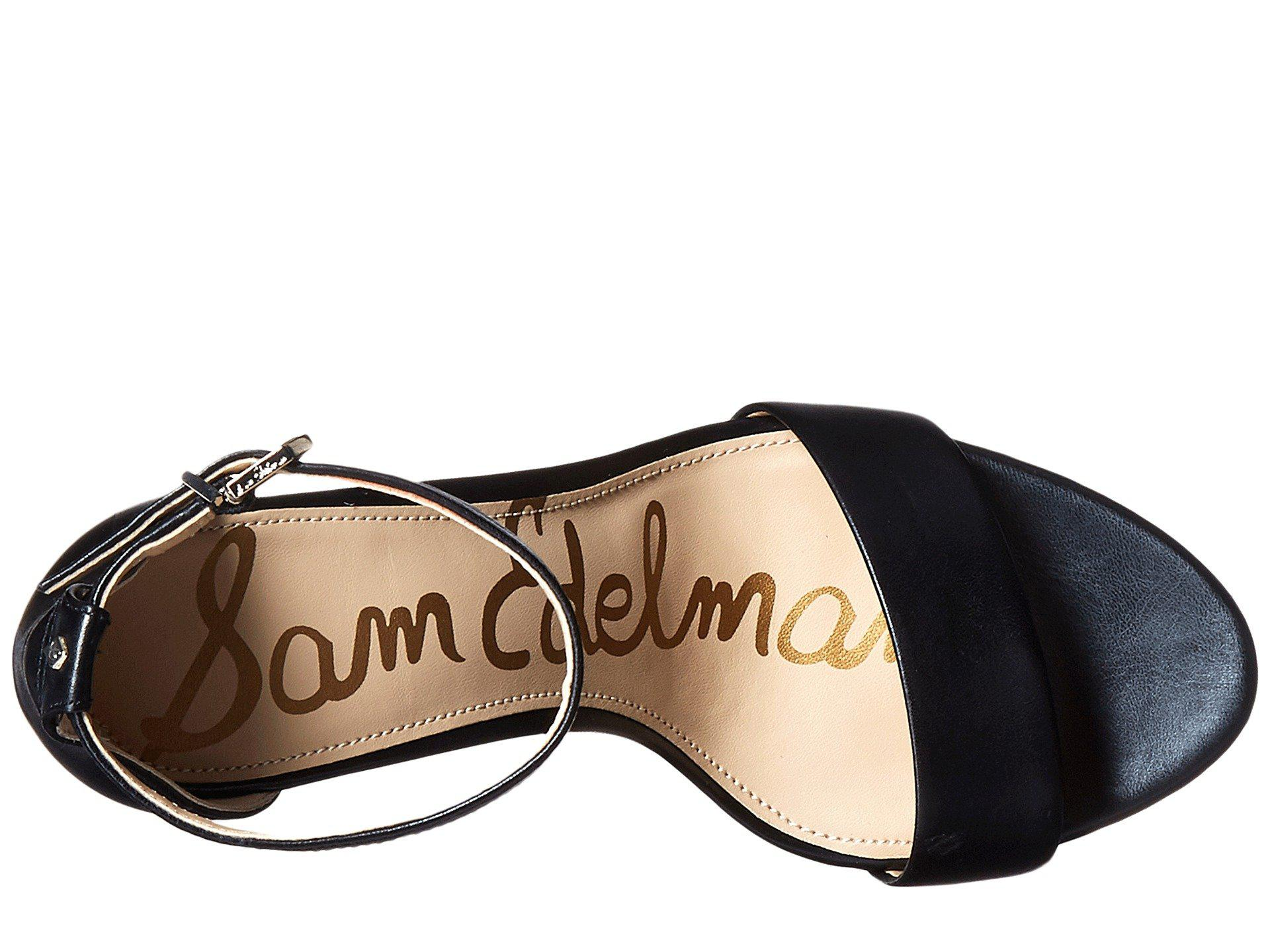 664b8e998beb Lyst - Sam Edelman Yaro Suede Block-heel Sandals in Black - Save 45%