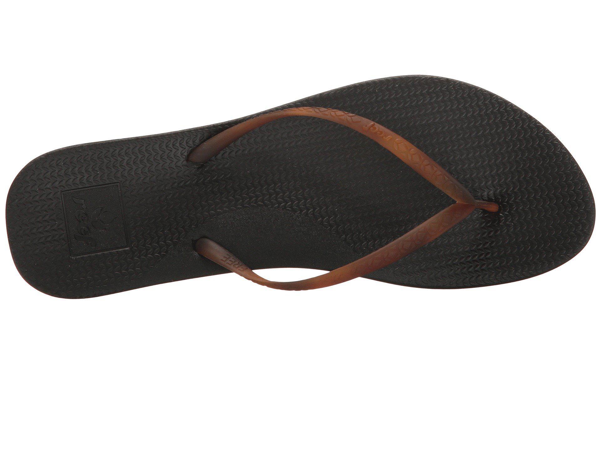 a952b3038 Reef - Escape Lux Tortoise (black Tortoise) Women s Sandals - Lyst. View  fullscreen