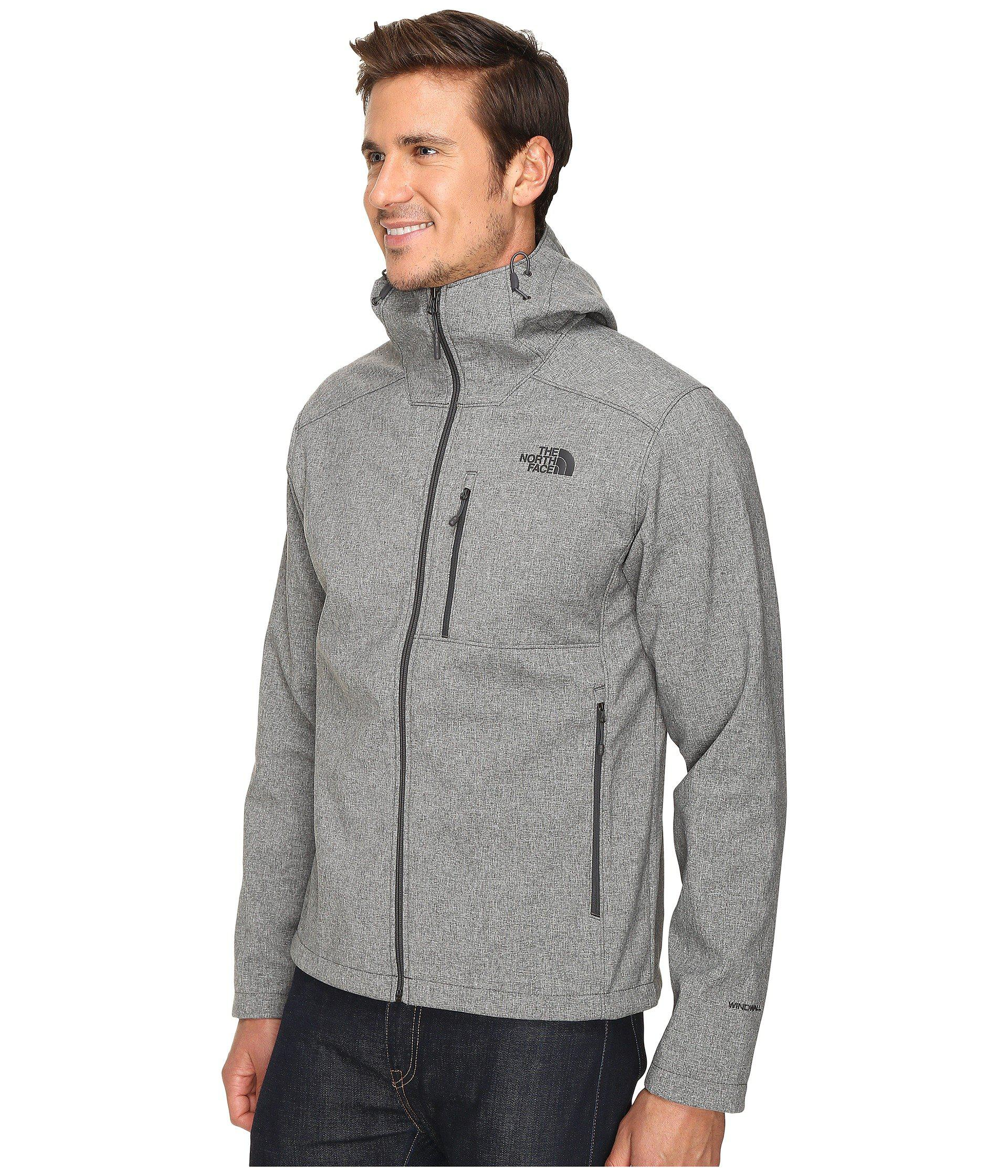 185095ae27f Lyst - The North Face Apex Bionic 2 Hoodie (tnf Black) Men s Sweatshirt in  Gray for Men - Save 41%