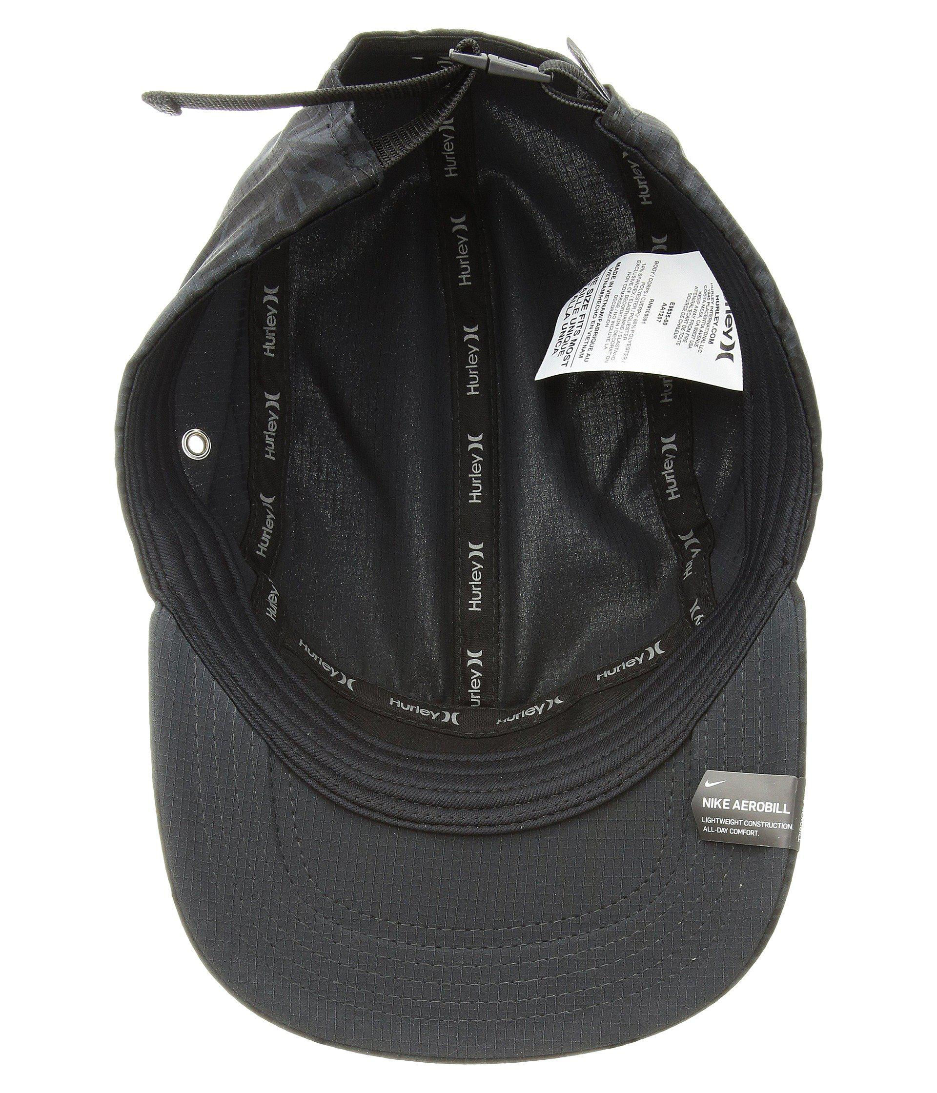 5c57508b389 Lyst - Hurley One And Only Palmer Hat (black) Caps in Black