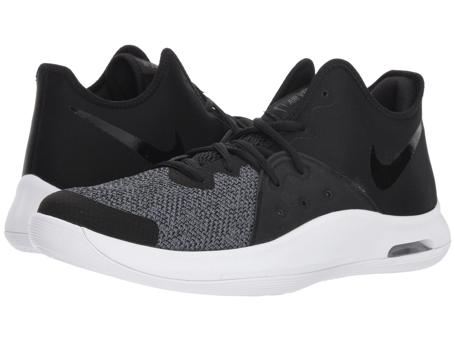 the latest 389a7 9de63 Nike. Men s Air Versitile Iii (black black anthracite) Basketball Shoes