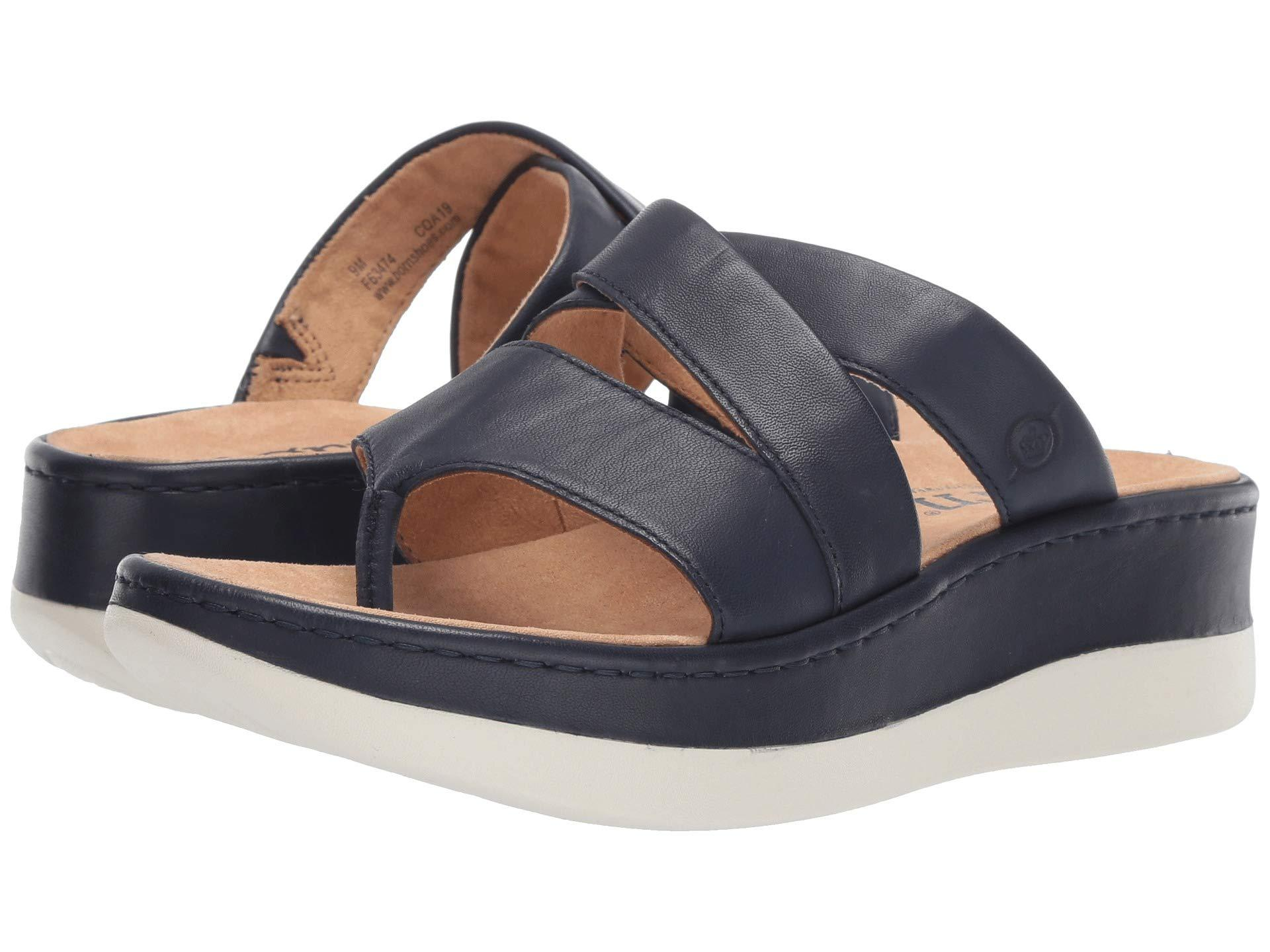 af1174d686a9 Lyst - Born Uinta (brown) Women s Sandals in Blue