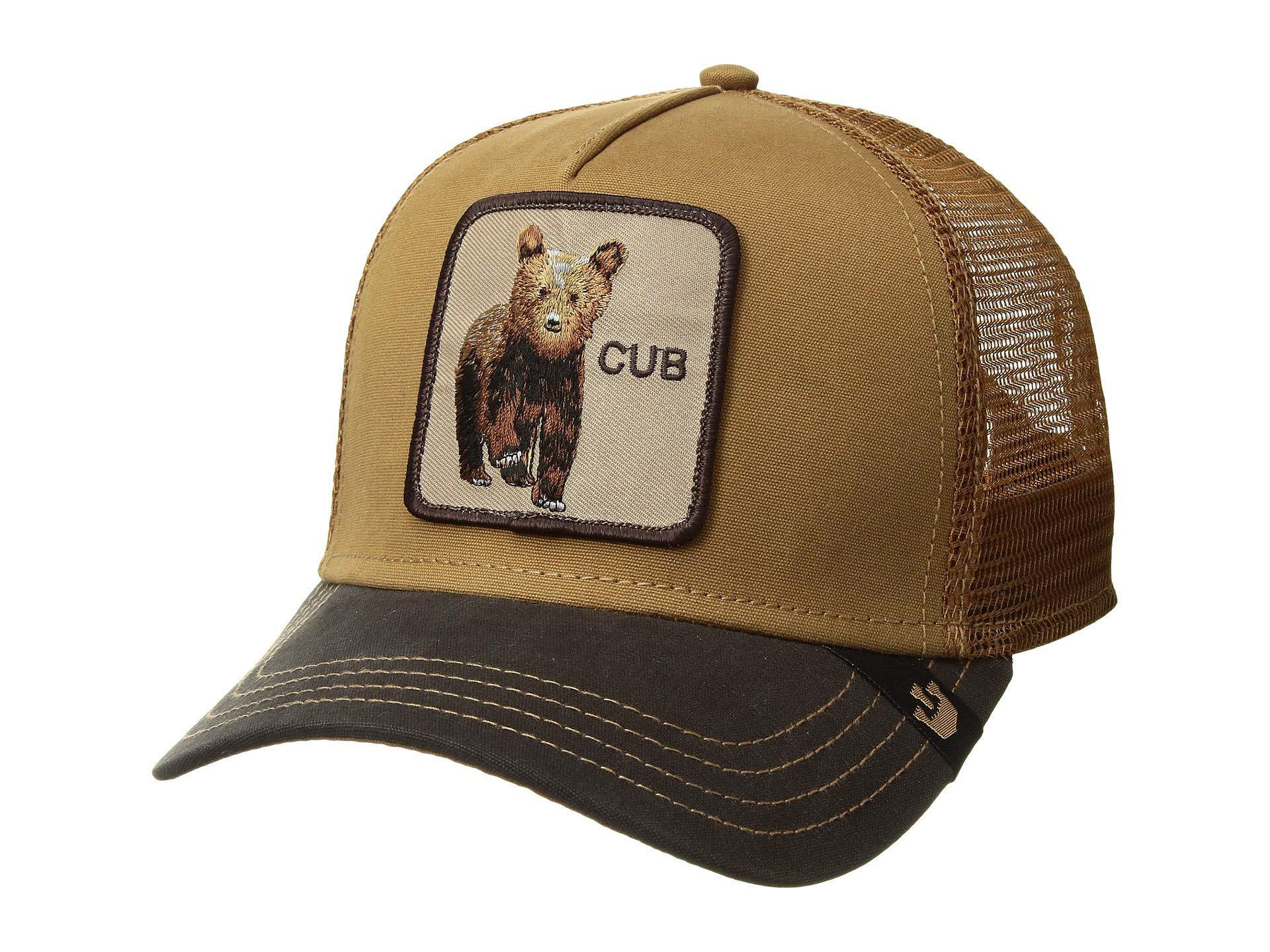 cb15419780d08 Goorin Bros Animal Farm Snap Back Trucker Hat (brown Beaver) Caps in ...