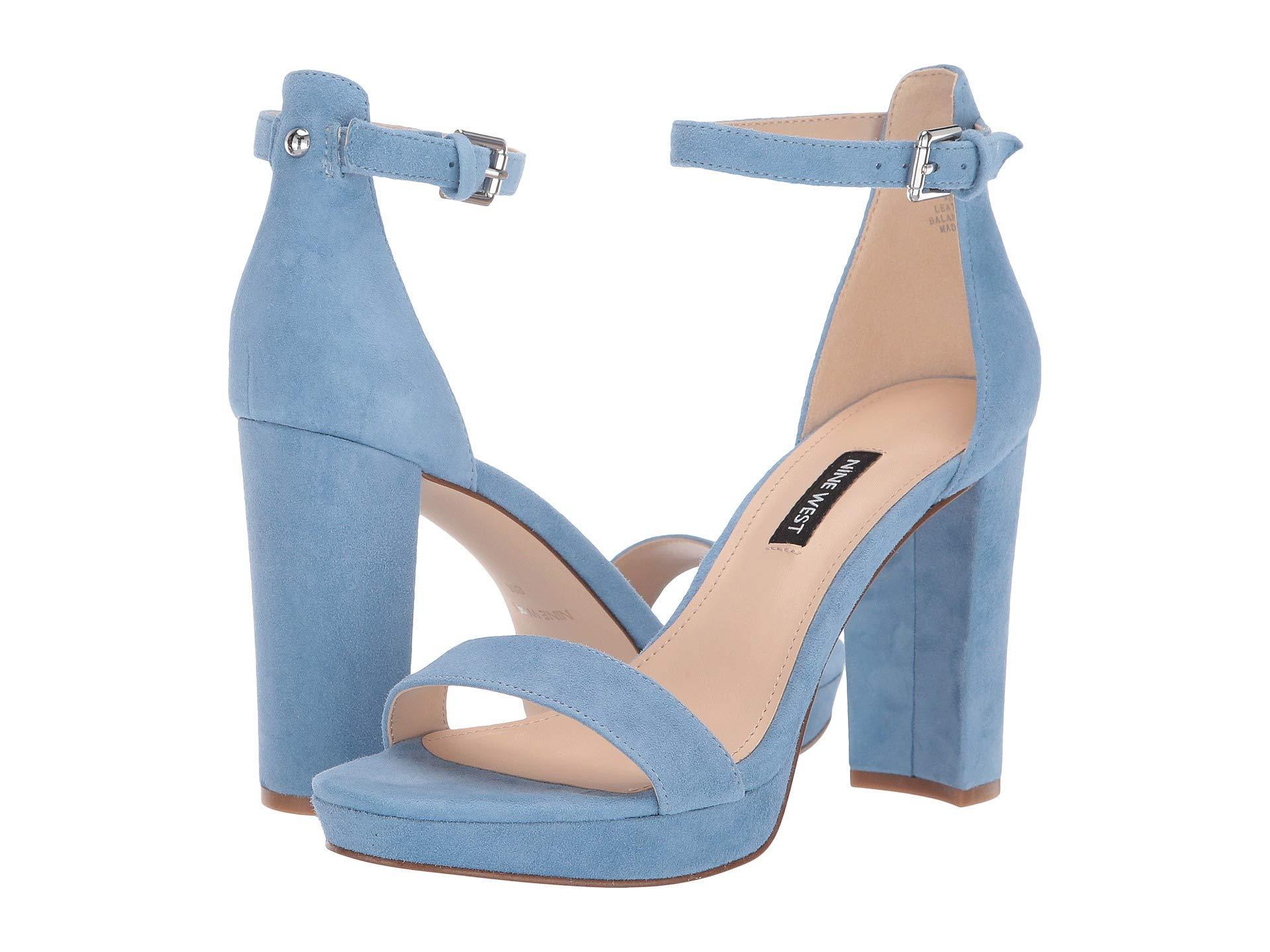 c80396f7d17d Nine West - Blue Dempsey (medium Red) Women s Shoes - Lyst. View fullscreen