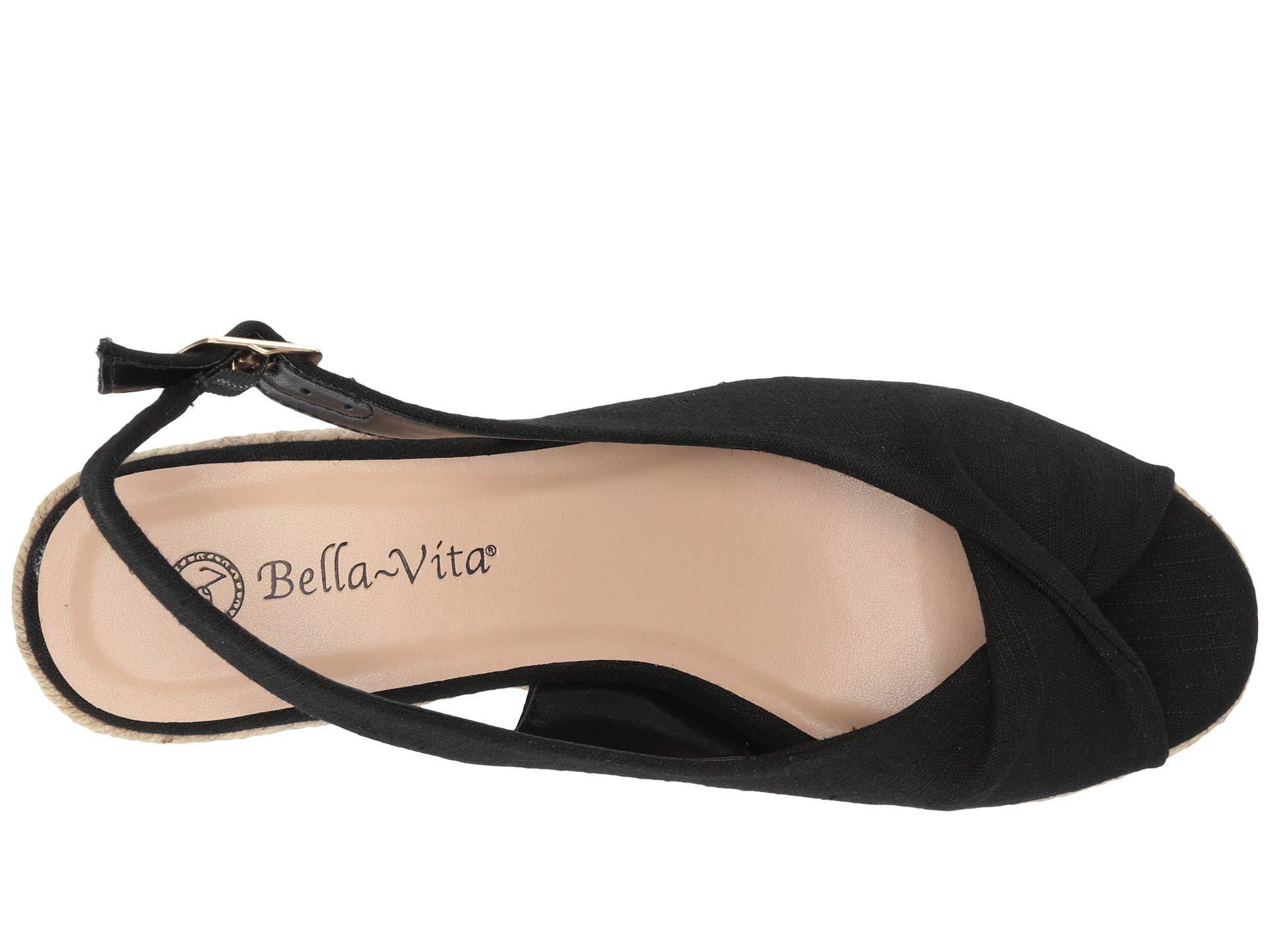 426a539ea01 Bella Vita - Black Sylvie Ii (soft Denim) Women s Shoes - Lyst. View  fullscreen