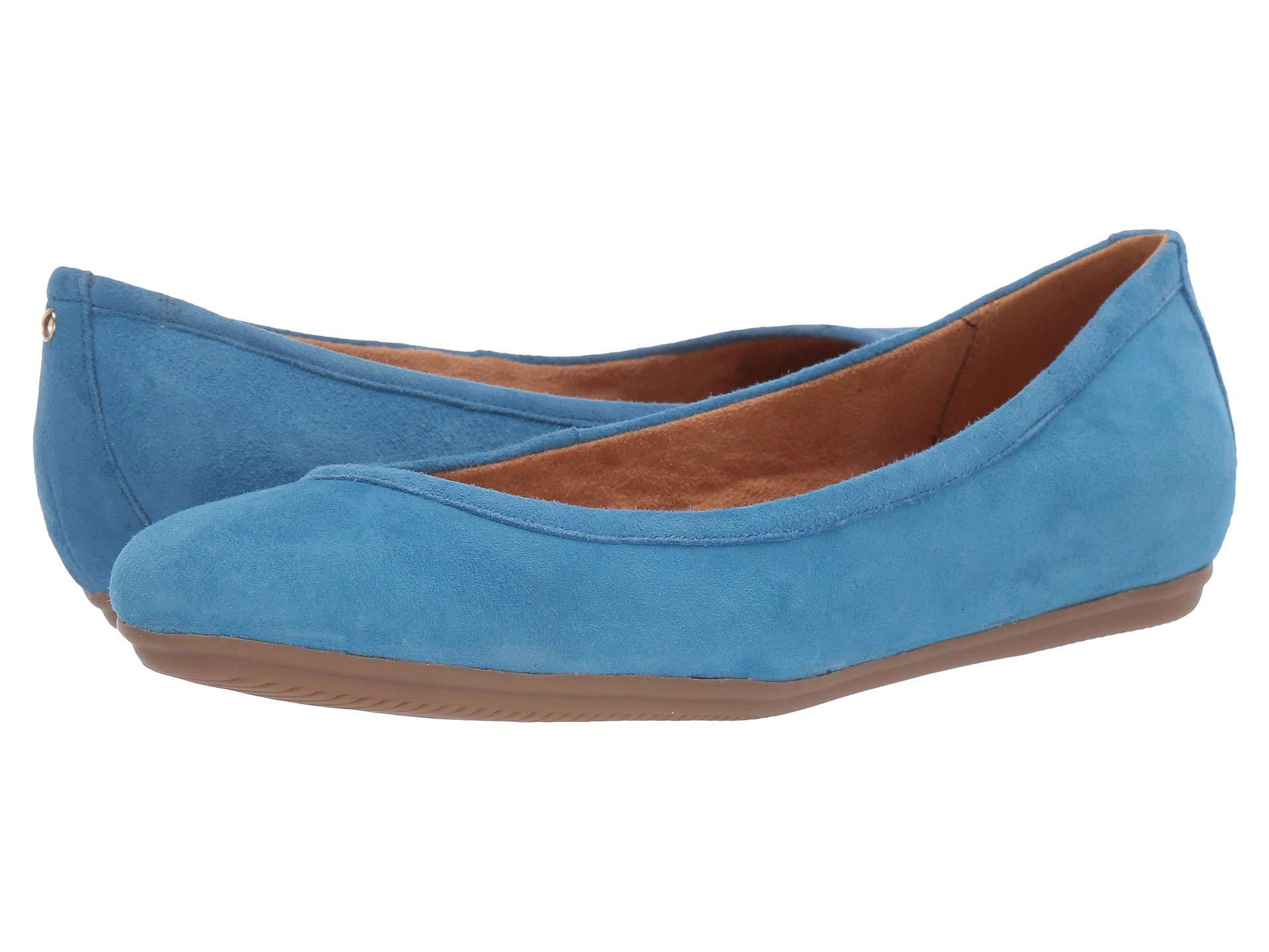 bec0ed2b3e87 Lyst - Naturalizer Brittany (black Suede) Women s Flat Shoes in Blue