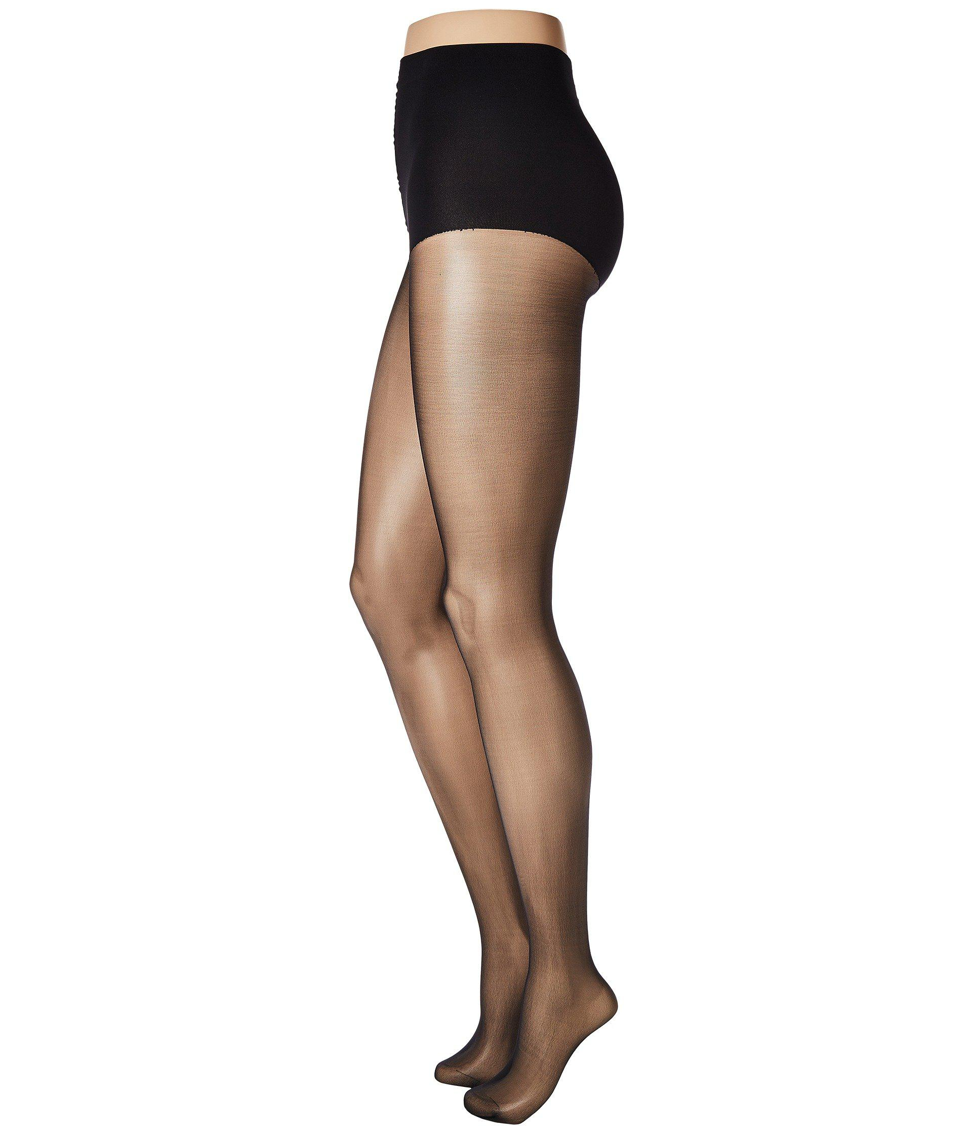2397f6976c5 Wolford Individual 10 Control Top Back Seam (black) Hose in Black - Lyst