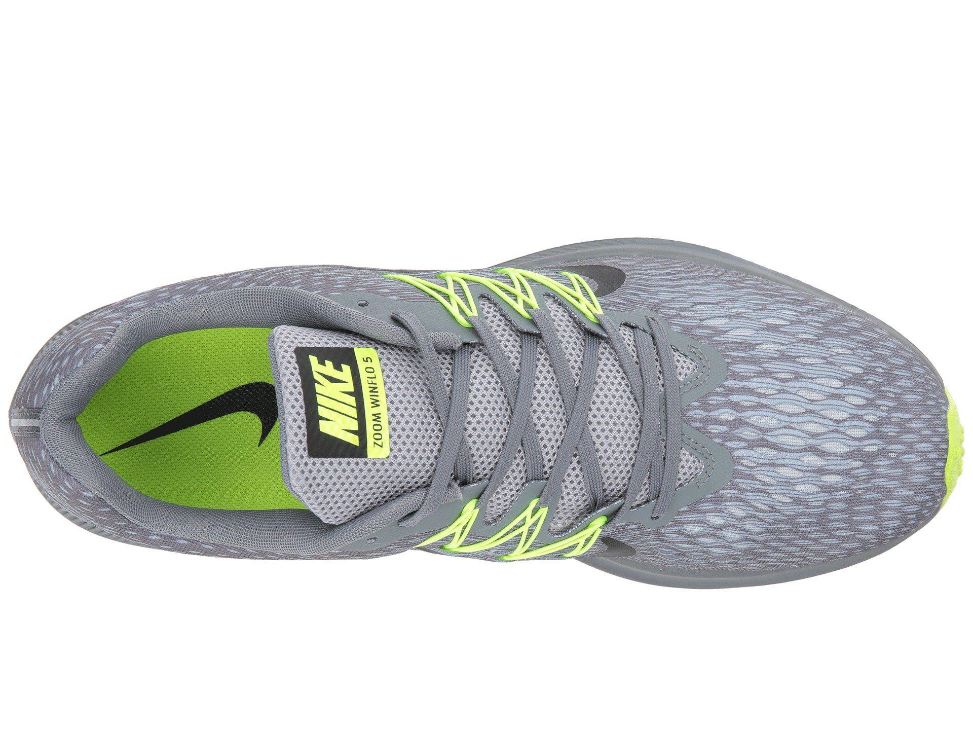 4cb97cacbe7d4 Nike - Gray Air Zoom Winflo 5 (black white anthracite) Men s Running. View  fullscreen