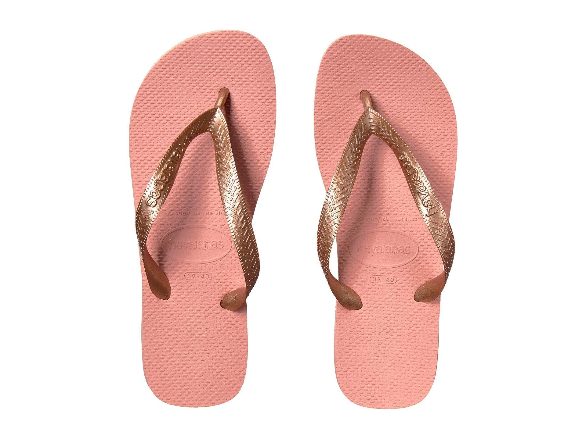 a509c62ac238 Lyst - Havaianas Top Tiras Flip-flops (rose Nude) Women s Sandals in ...