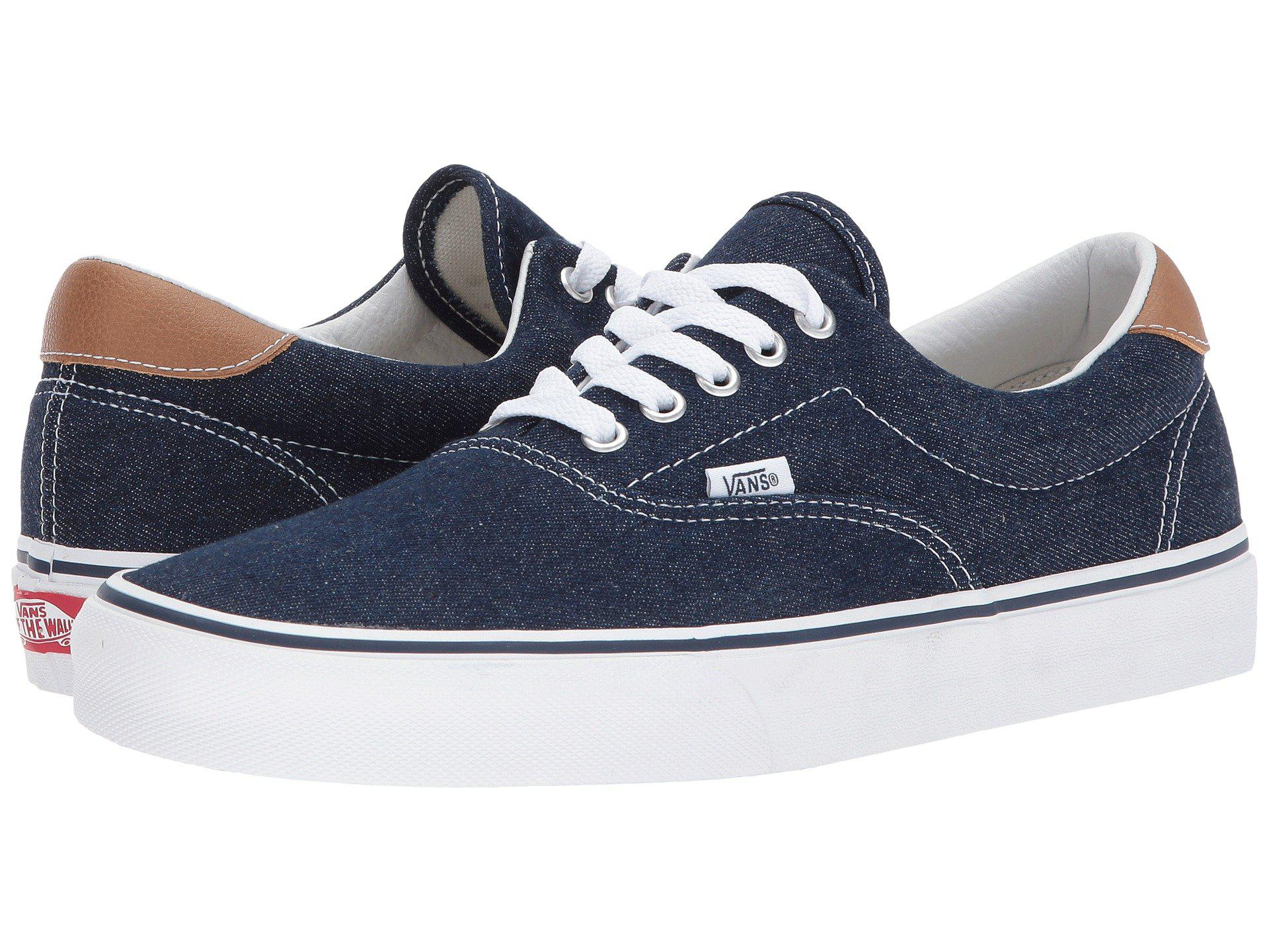 b18f9d45361370 Lyst - Vans Era 59 ((c l) Frost Gray acid Denim) Skate Shoes in Blue ...