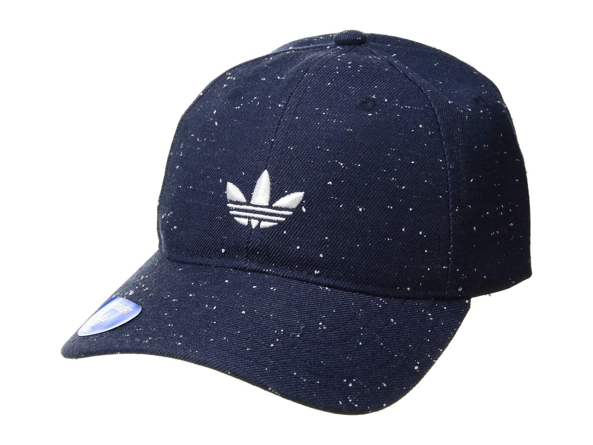 97af476f73ab8 adidas Originals. Men s Blue Originals Relaxed Wool Strapback (collegiate  Navy white) Caps