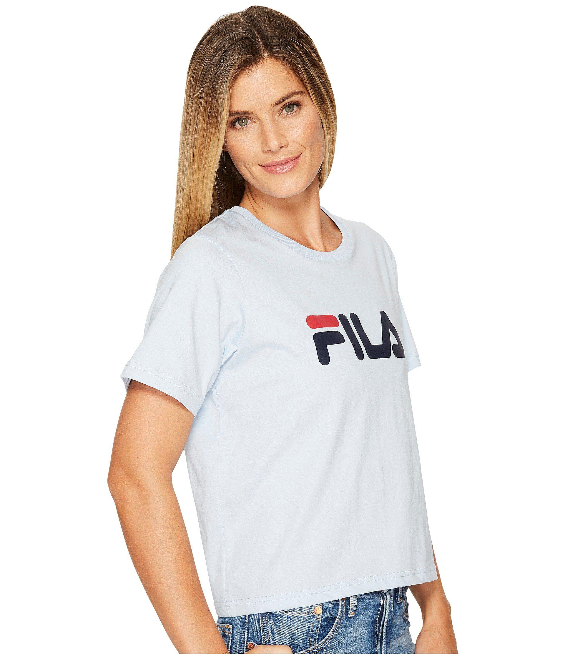 d64c44f6be Fila Miss Eagle Tee (black/red/white) Women's T Shirt in Blue - Lyst