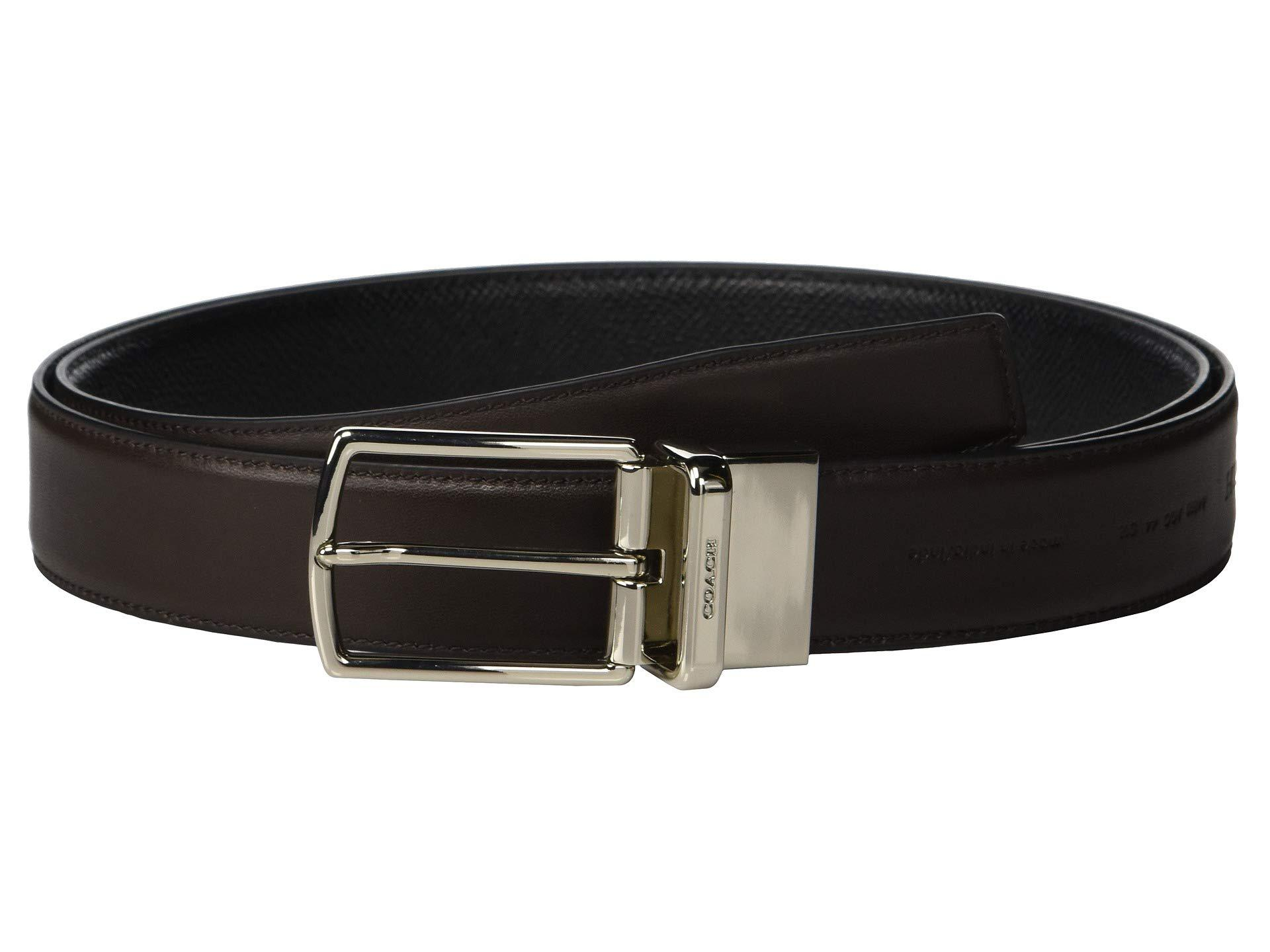 dd4dd28cf371 COACH - Boxed Sculpted C Cut To Size reversible Belt (black) Men s Belts.  View fullscreen