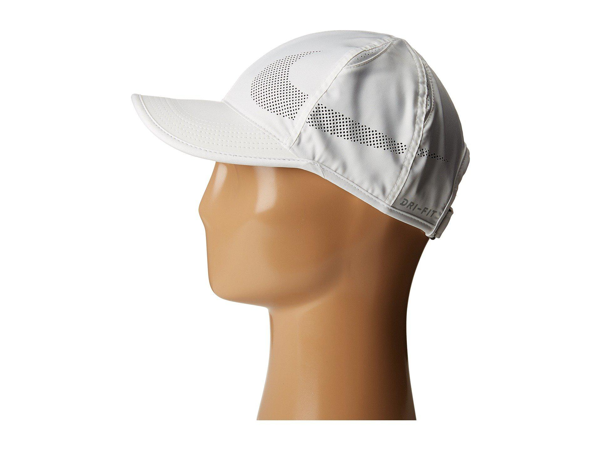 Nike - Multicolor Court Aerobill Featherlight Tennis Cap (white black black)  Caps. View fullscreen a79ddefd81a4