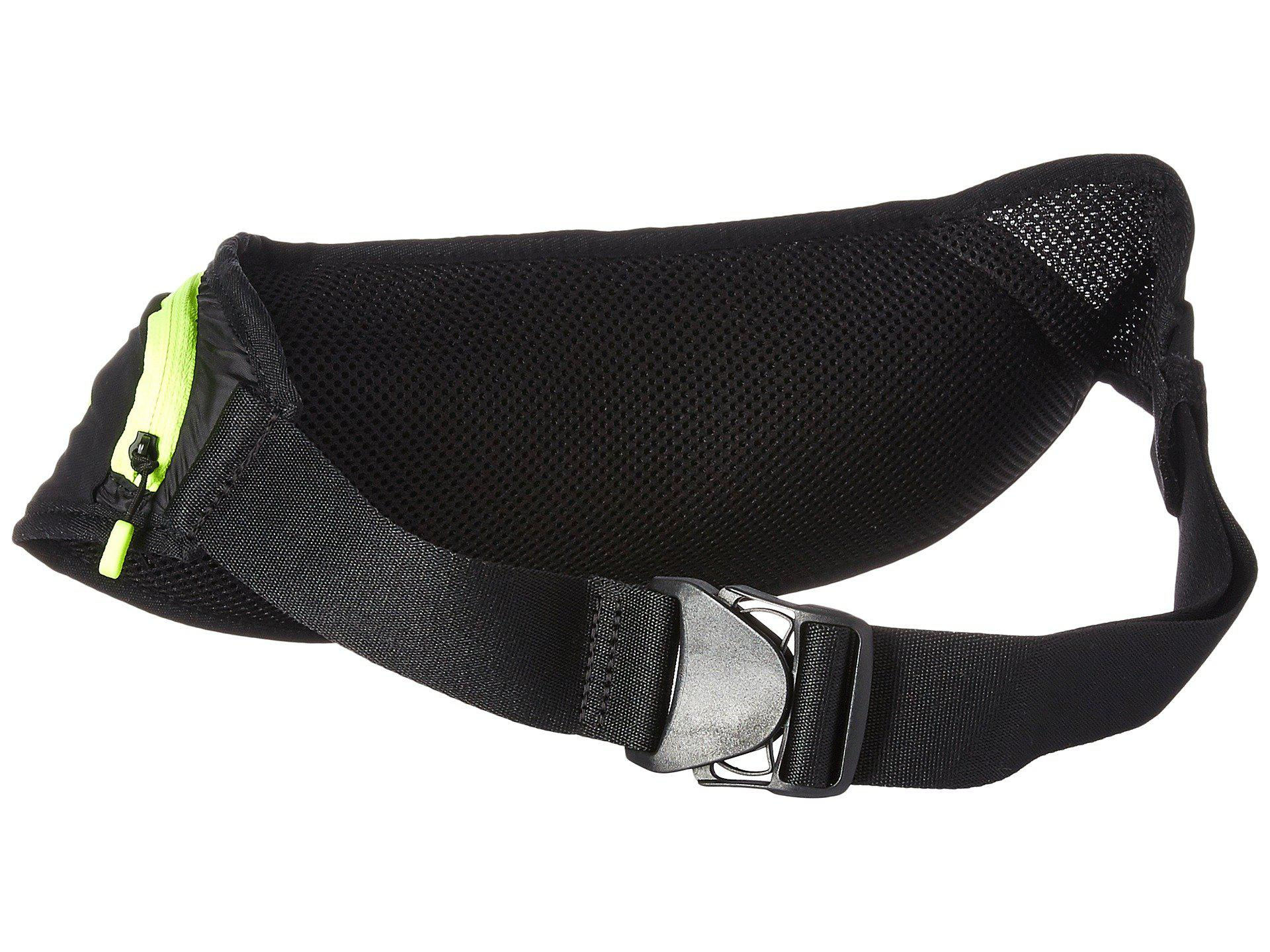 competitive price 41a5c 06596 Nike - Double Pocket Flask Belt 20oz (black volt silver) Athletic Sports.  View fullscreen