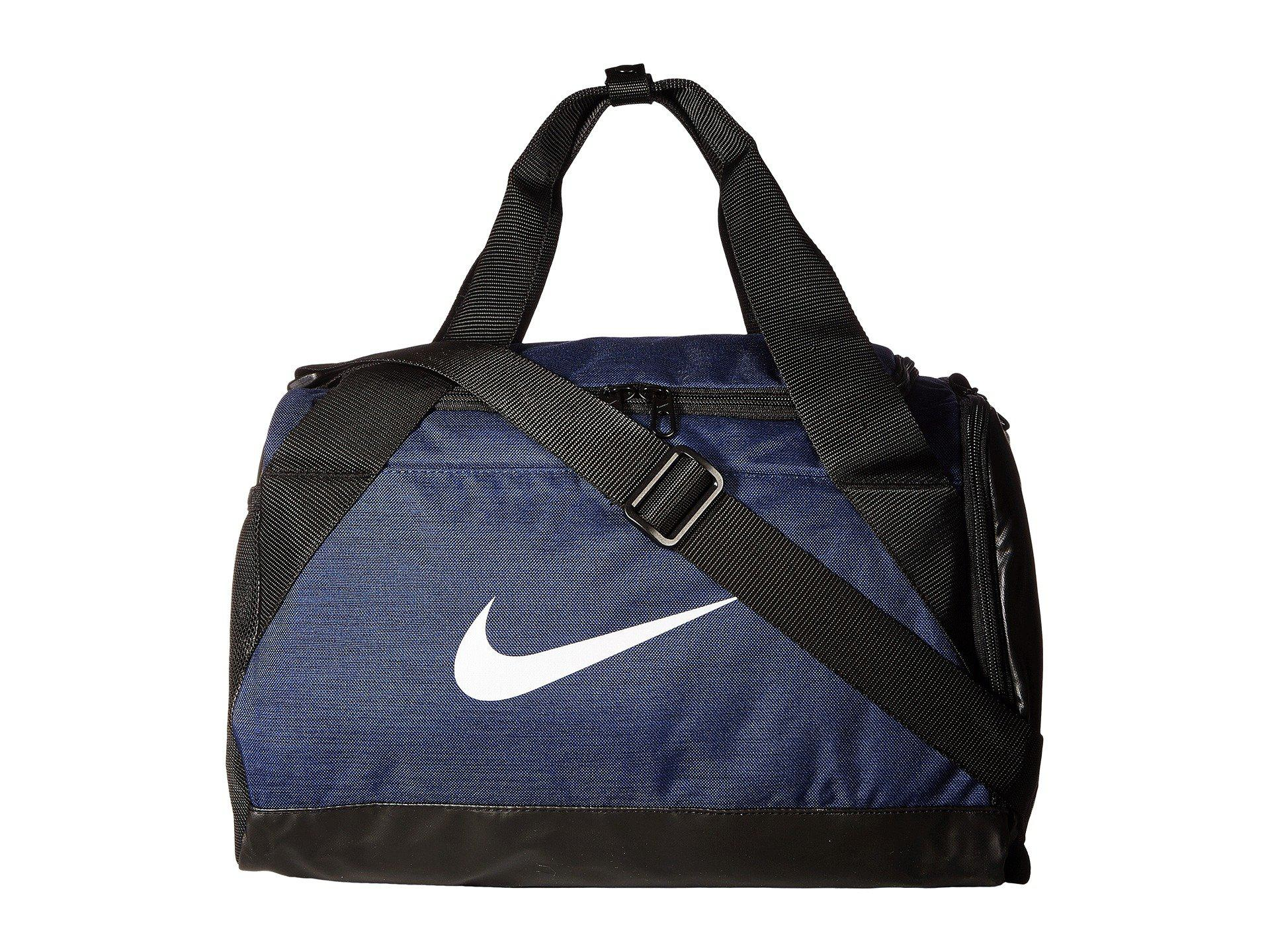 33f569a571cd Lyst - Nike Brasilia Small Duffel Bag (flint Grey black white ...