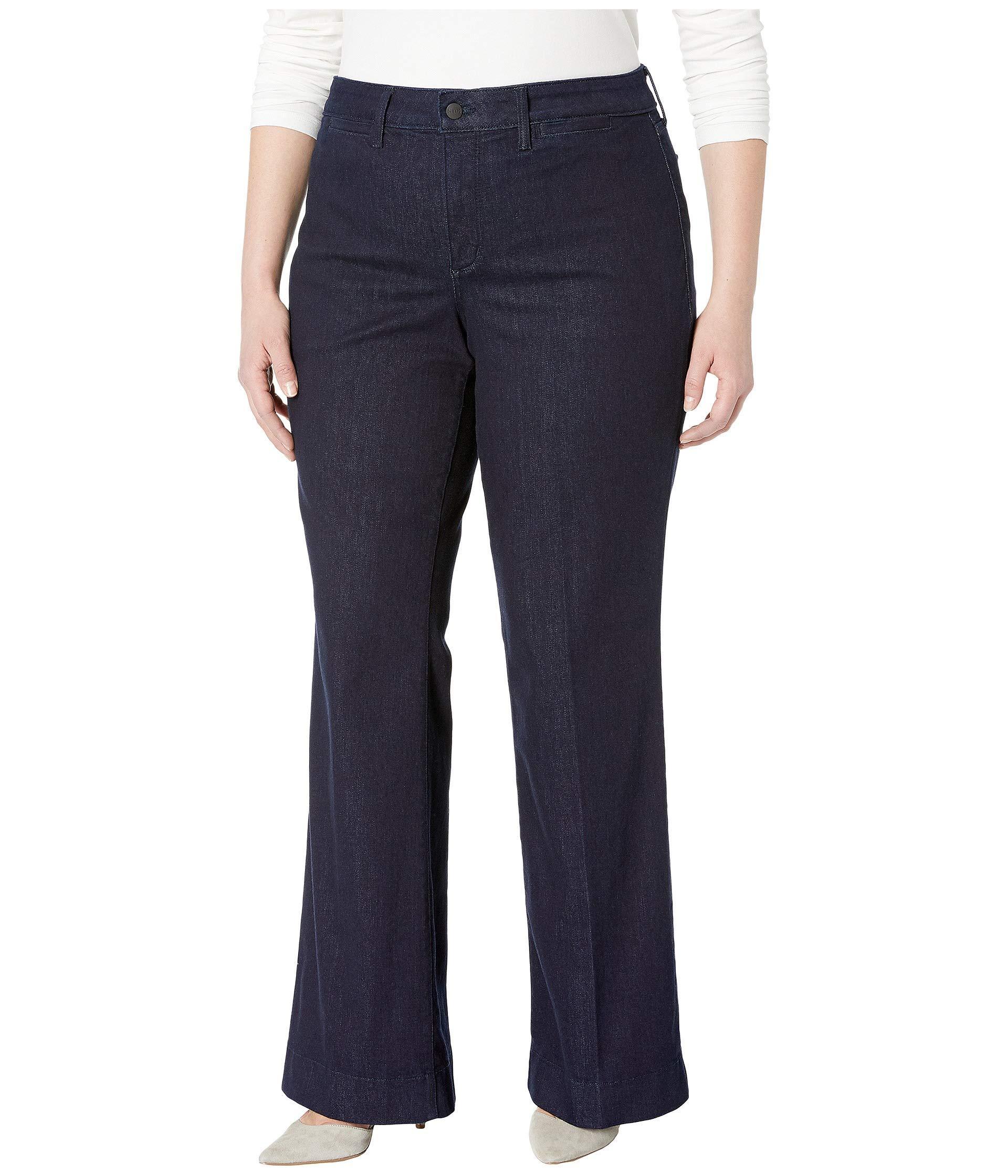 98115b54d8b39 Lyst - NYDJ Plus Size Teresa Trousers In Rinse (rinse) Women s Jeans ...