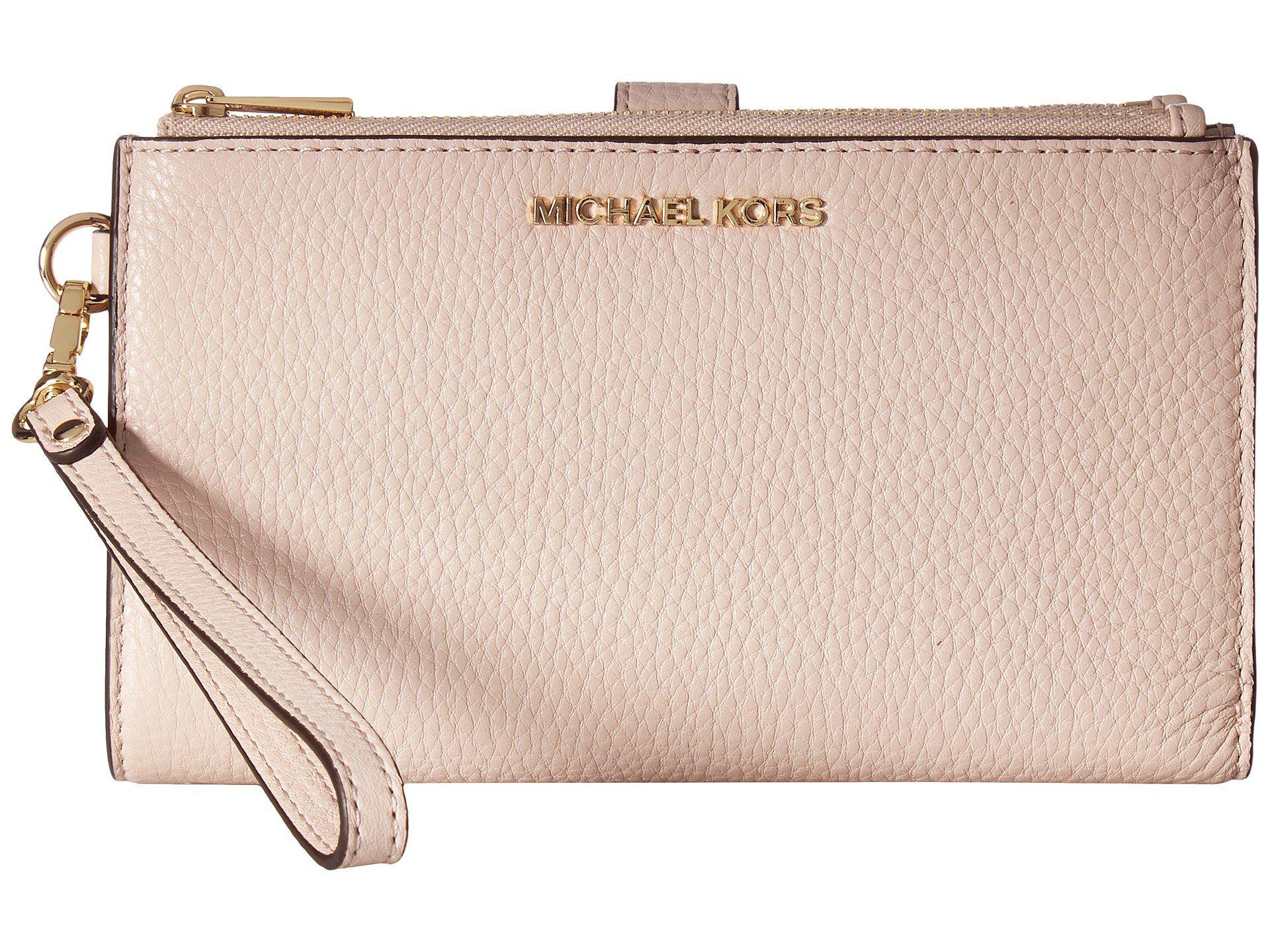 969c080ef01e MICHAEL Michael Kors - Multicolor Adele Double Zip Wristlet 7+ - Lyst. View  fullscreen