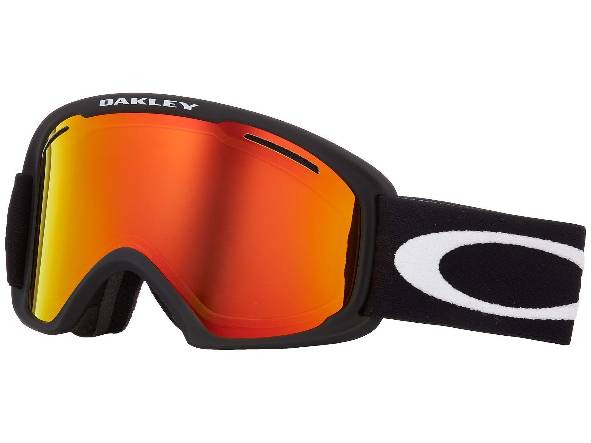 7fe1803c9999 Oakley. Men s O-frame 2.0 Xm (matte Black W  Persimmon dark Grey) Snow  Goggles