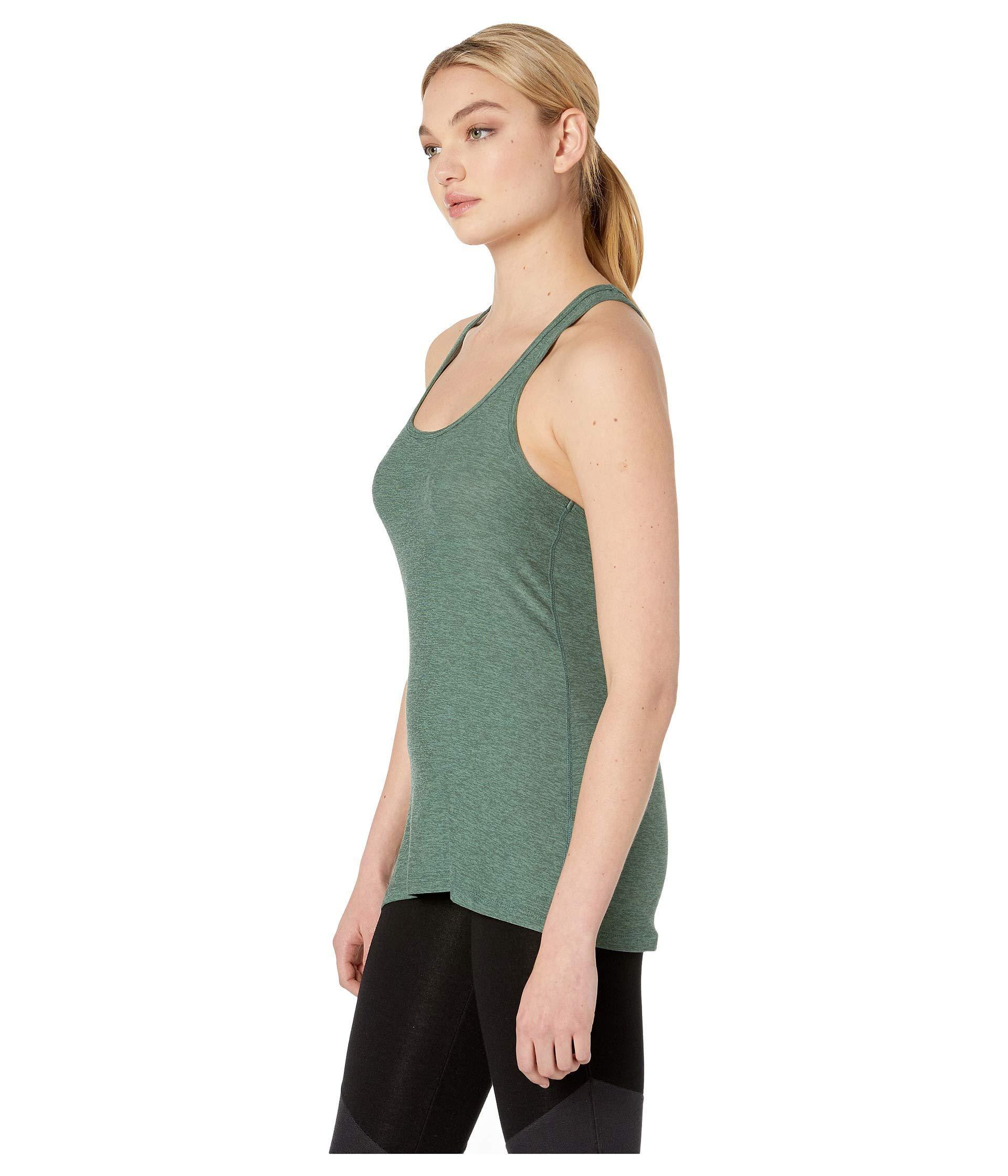 e1a2661f35c2b Lyst - Beyond Yoga Travel Lightweight Racerback Tank Top (aloha Green/dark  Tropic) Women's Sleeveless in Green