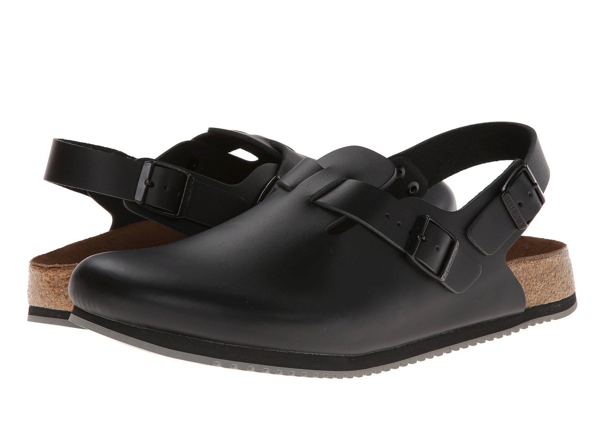 57f92145a1e Birkenstock - Black Tokyo Super Grip (white Leather) Shoes - Lyst. View  fullscreen