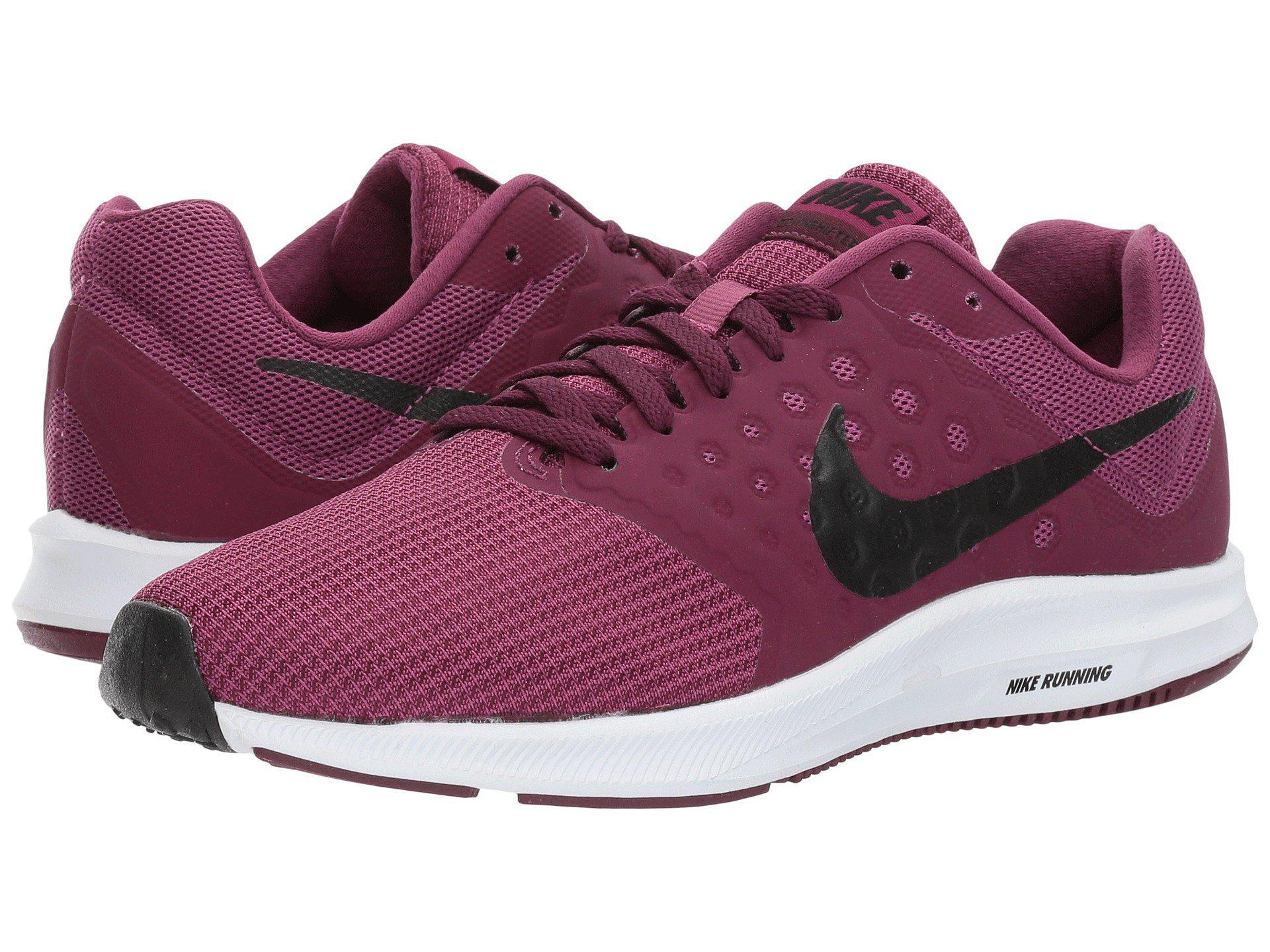 c75cf6a429280 Lyst - Nike Downshifter 7 (tea Berry black bordeaux white) Women s ...