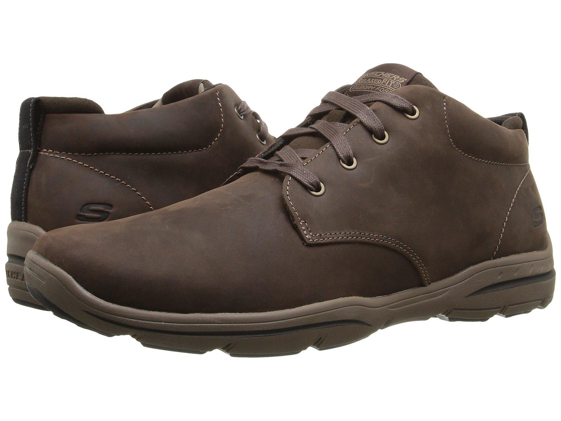 0b34aba26b6d Lyst - Skechers Usa Harper Meldon Chukka Boot in Brown for Men ...